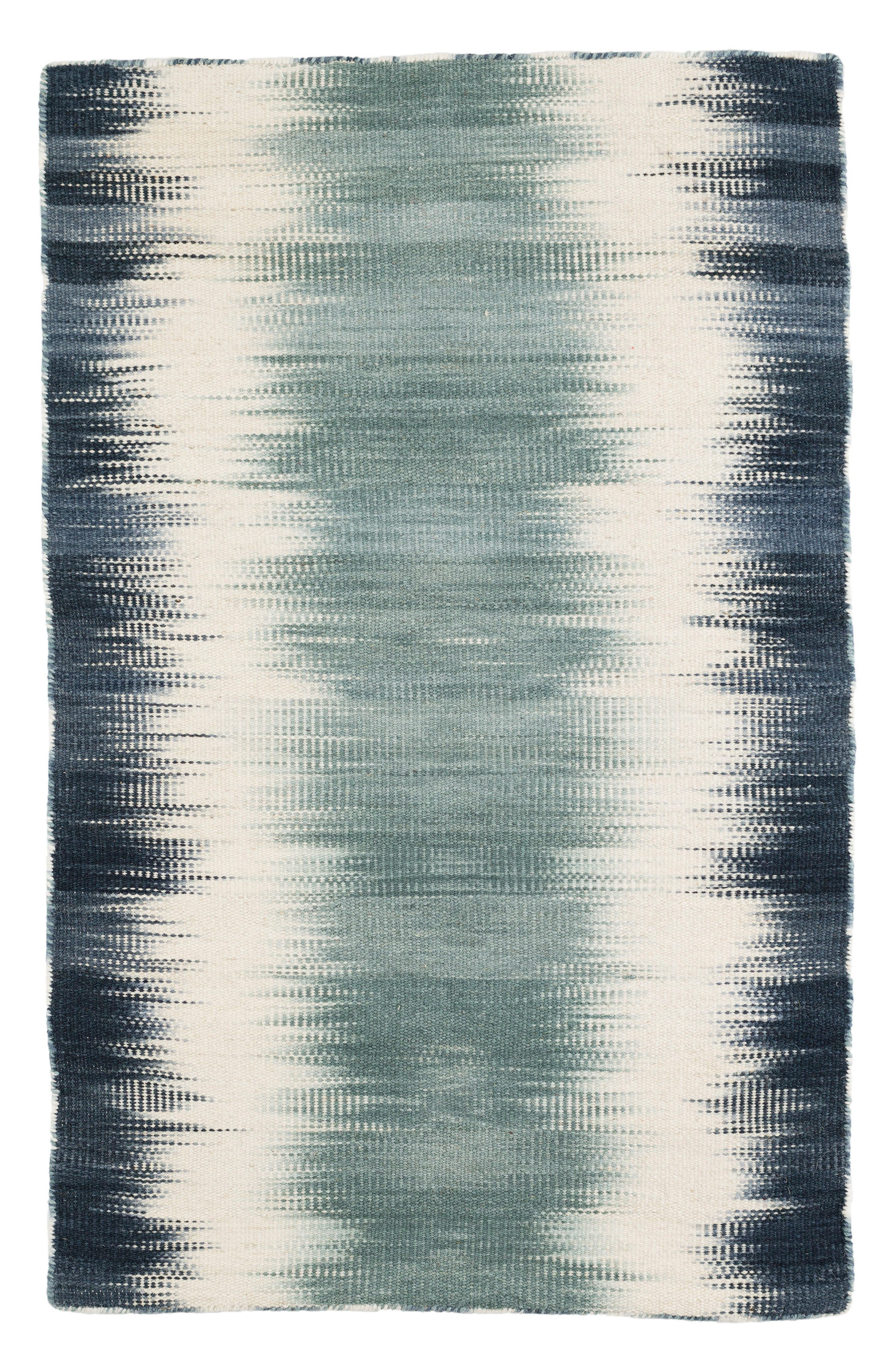 Sombre Kilim Wool-Blend Rug,                             Main thumbnail 1, color,                             400