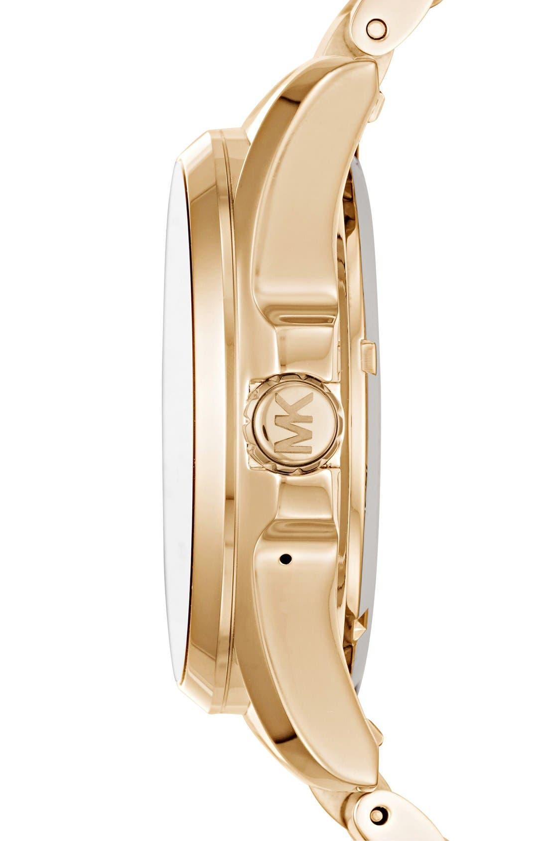 MICHAEL Michael Kors Bradshaw Access Bracelet Smart Watch, 45mm,                             Alternate thumbnail 40, color,