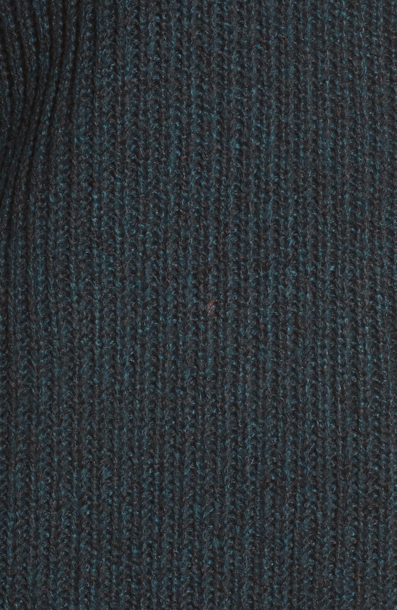 Cold Shoulder Turtleneck Sweater,                             Alternate thumbnail 5, color,                             300