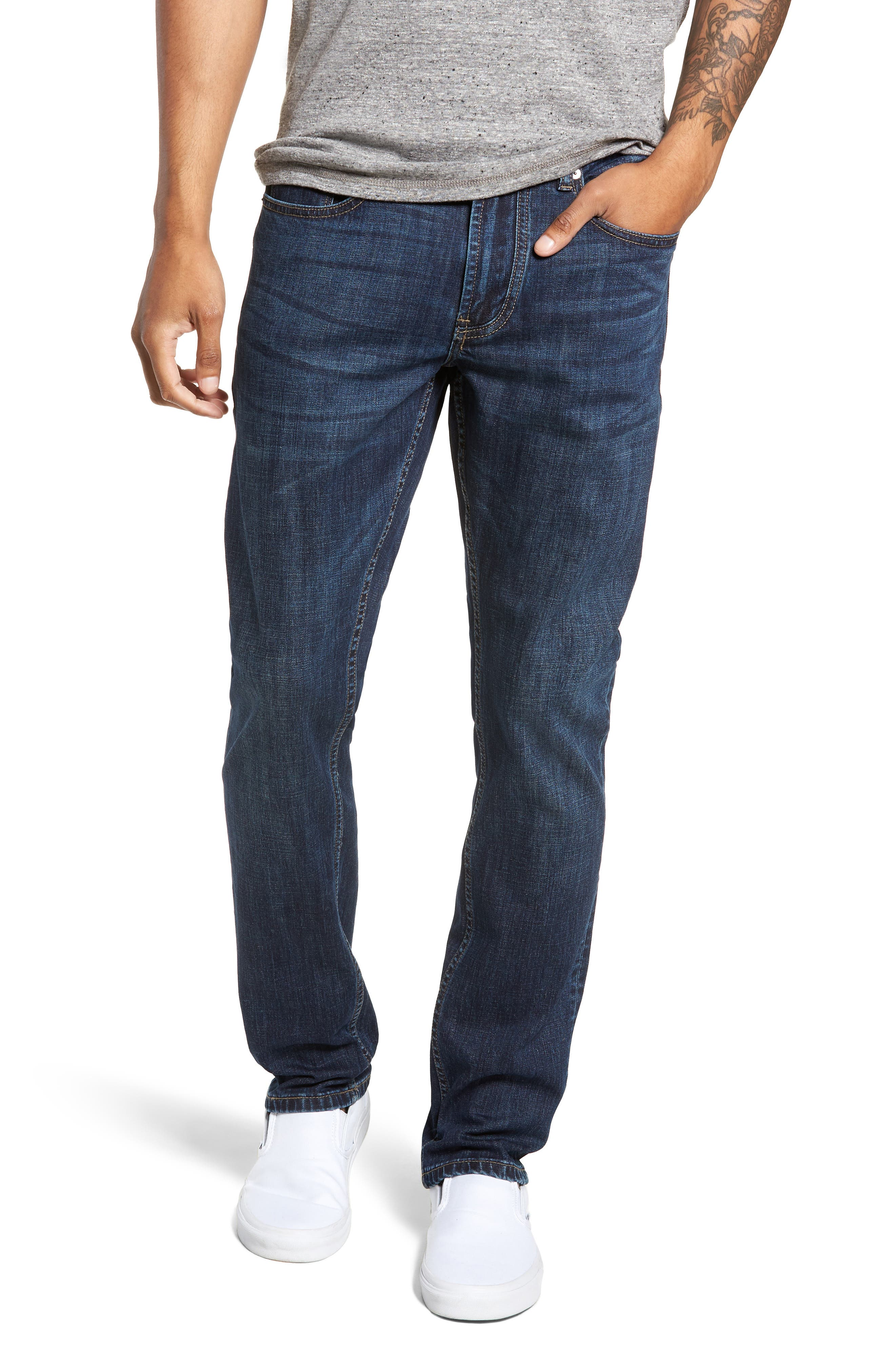 Wooster Slim Fit Jeans,                         Main,                         color, THROTTLE THRUST