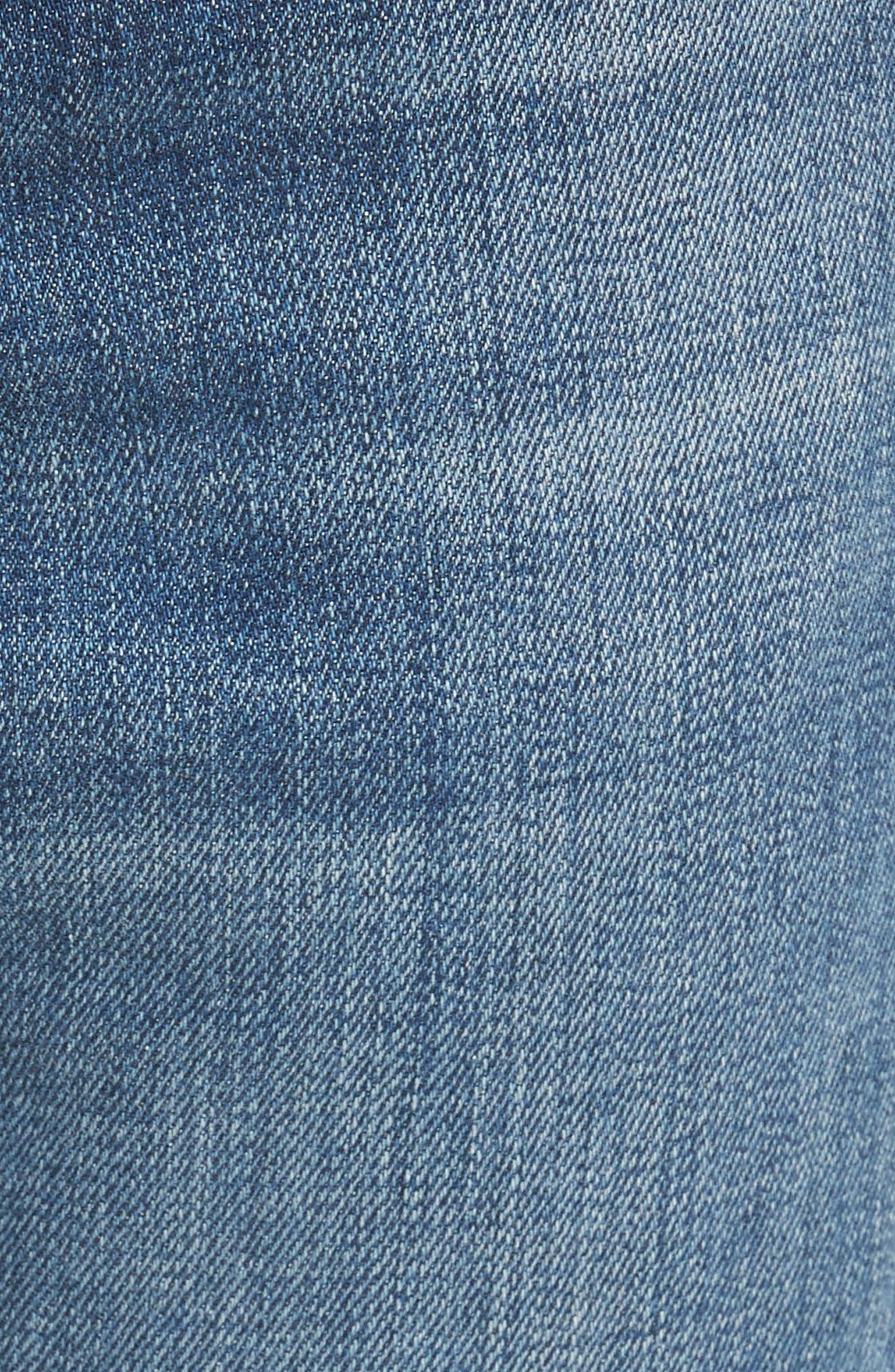 Fit 2 Slim Fit Jeans,                             Alternate thumbnail 5, color,                             LINDEN