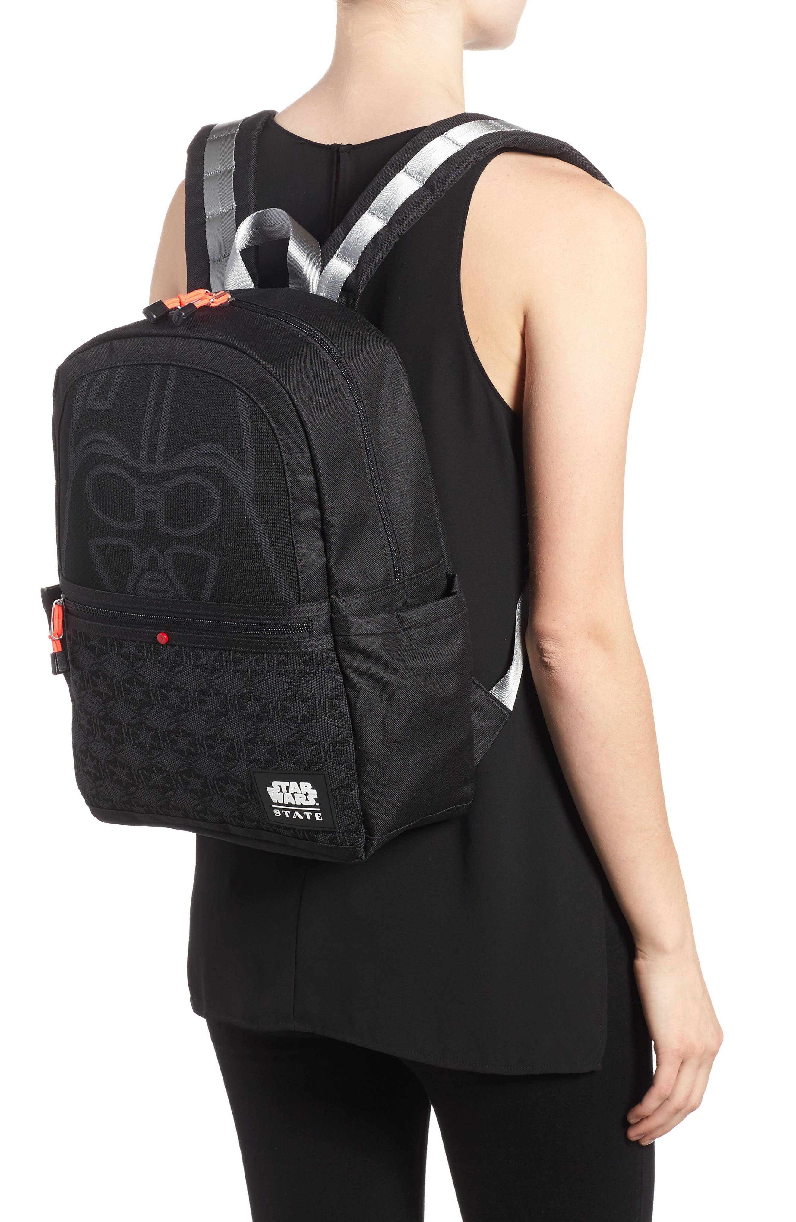Star Wars<sup>™</sup> - Darth Vader Kane Backpack,                             Alternate thumbnail 2, color,                             001