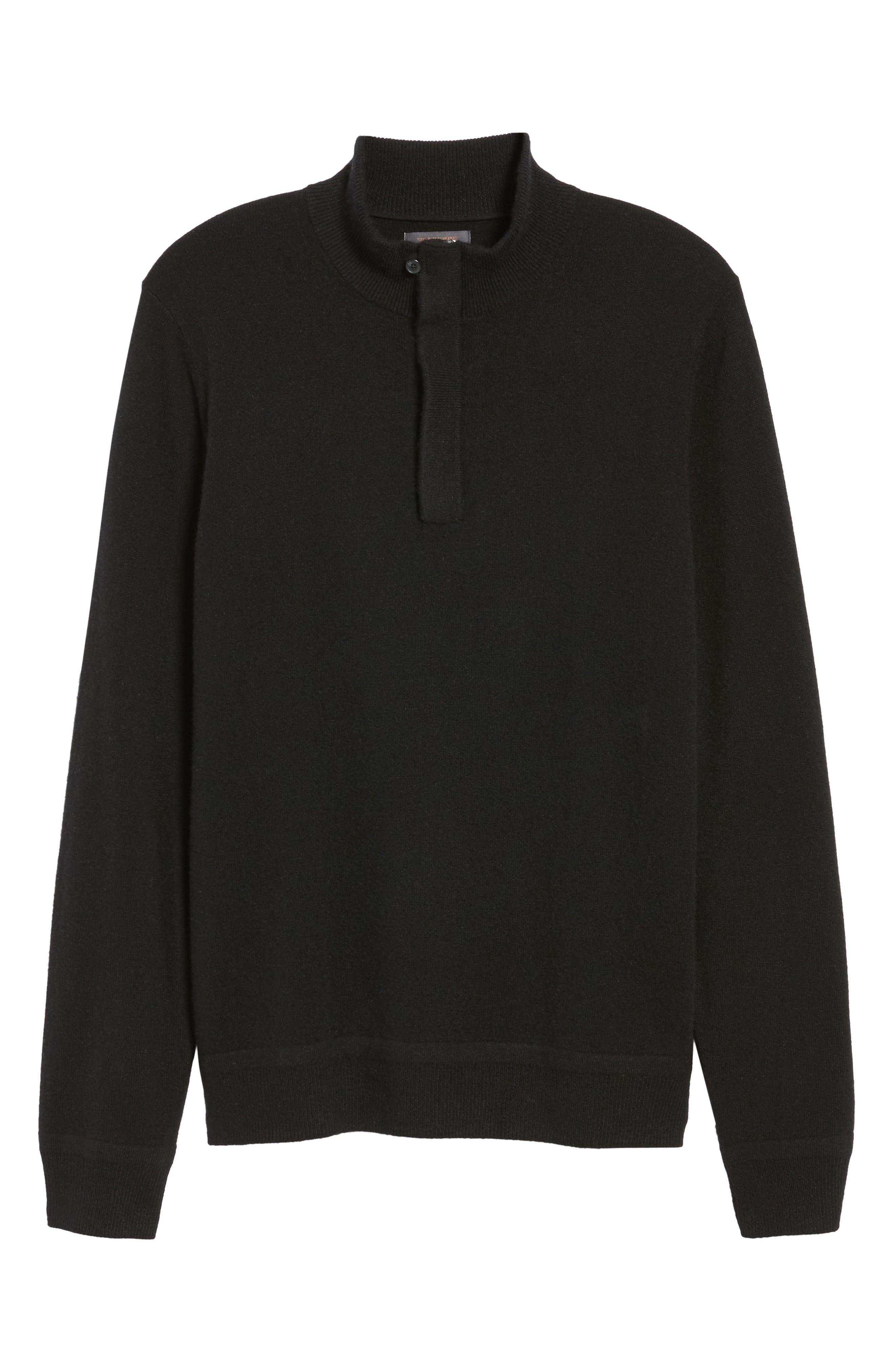Cashmere Quarter Zip Sweater,                             Alternate thumbnail 31, color,