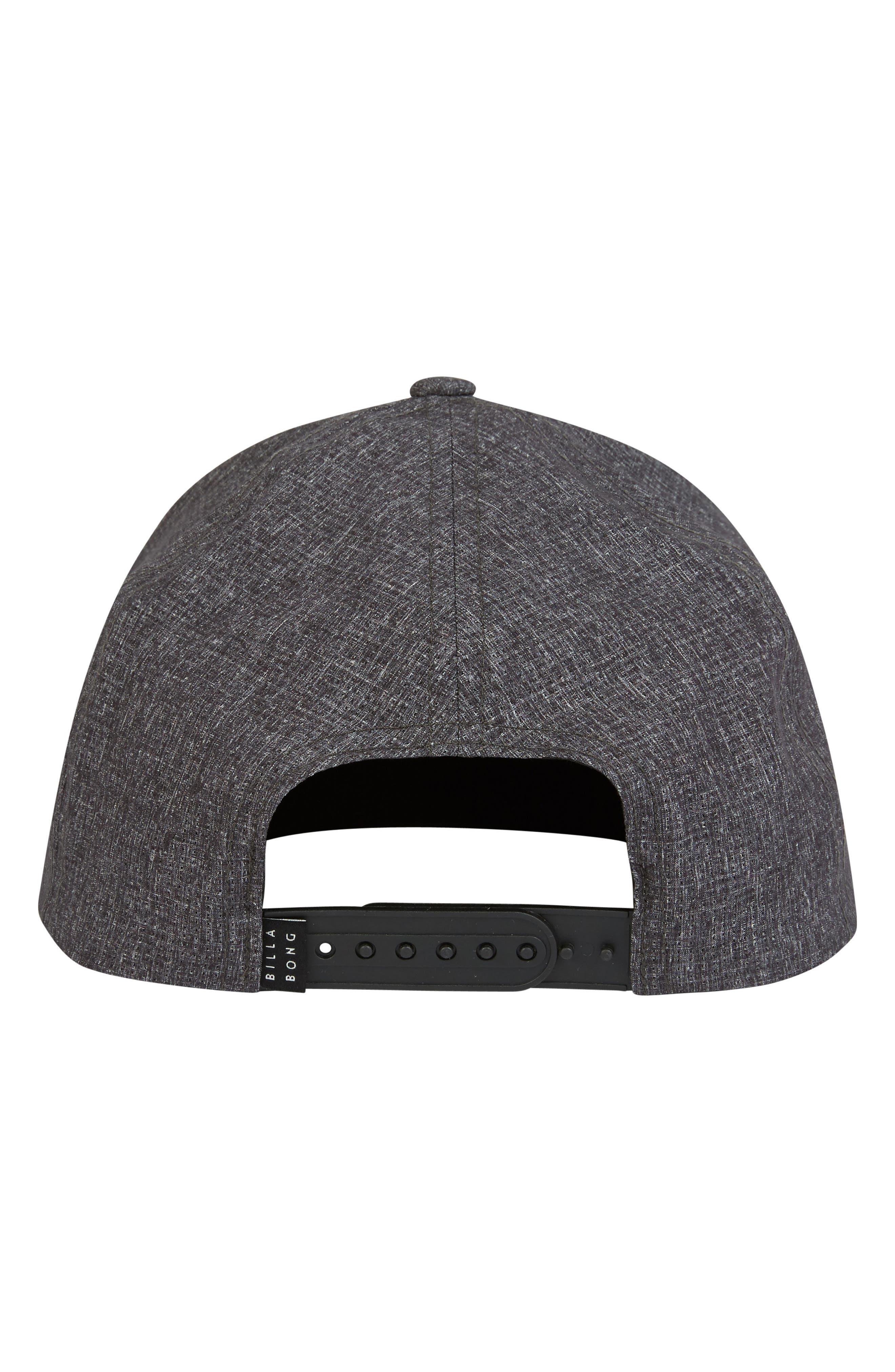 Surftrek Trucker Hat,                             Alternate thumbnail 3, color,                             BLACK HEATHER