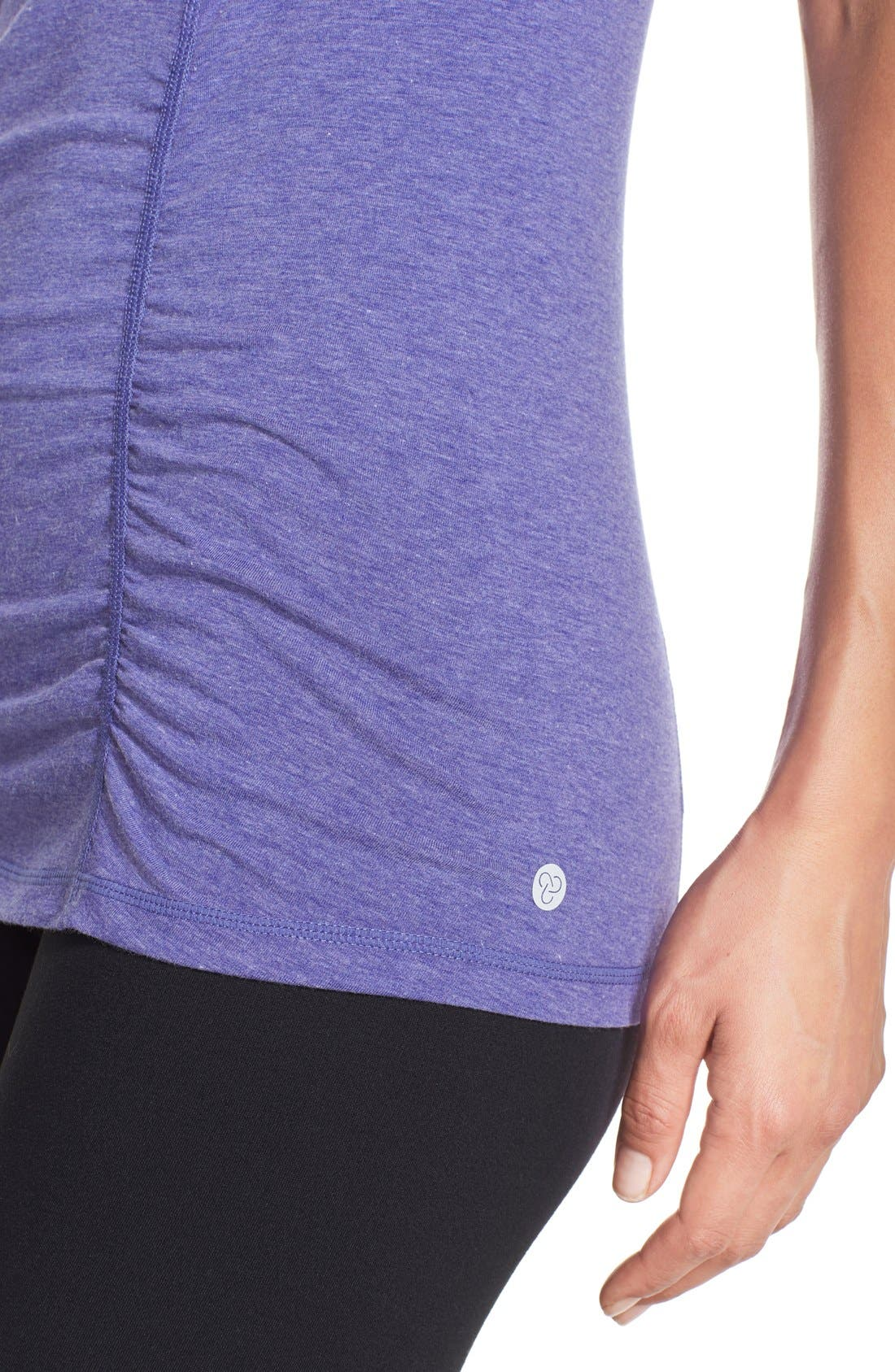 'Z 6' Ruched Tee,                             Alternate thumbnail 68, color,