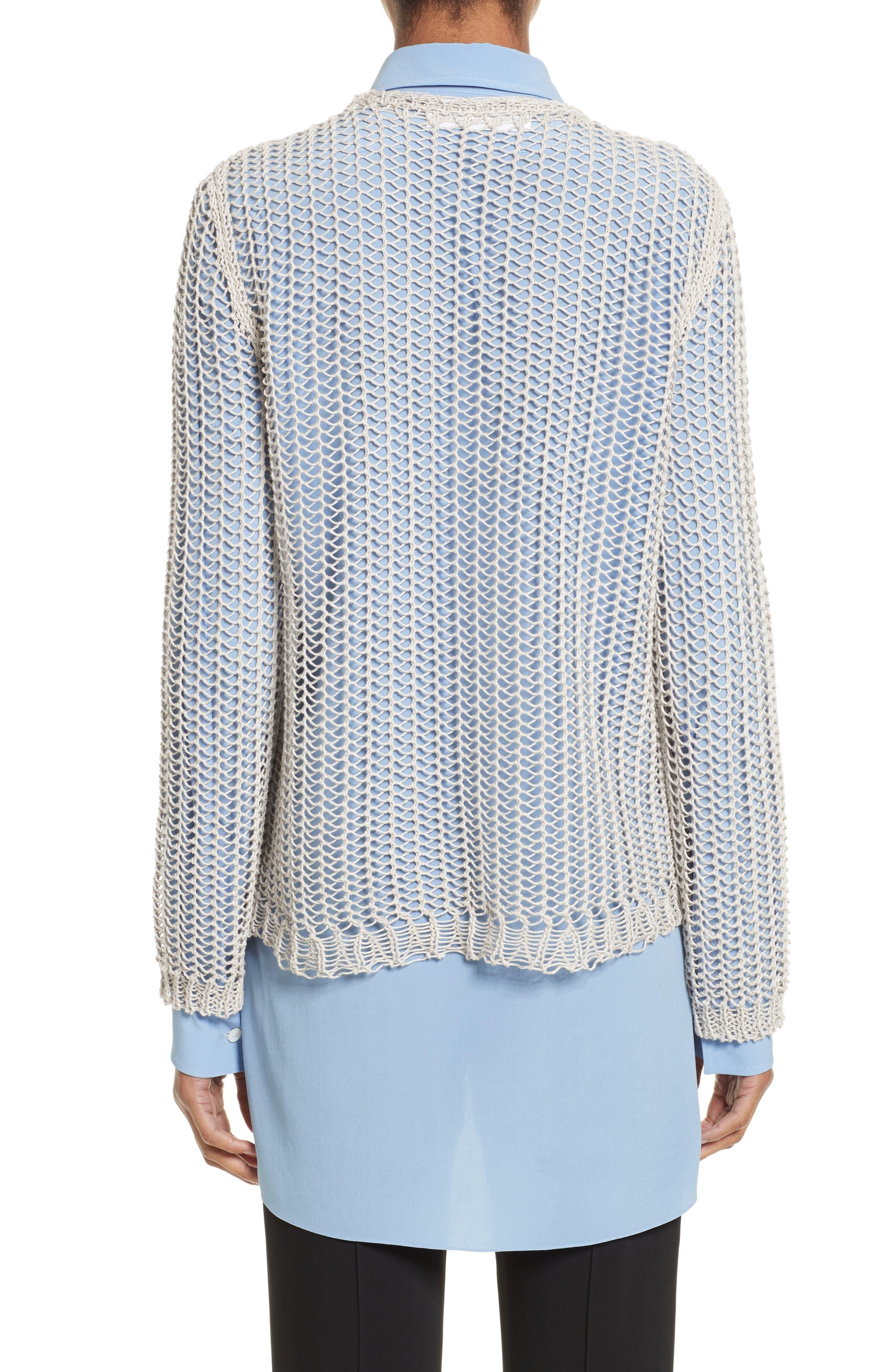 Fishnet Sweater,                             Alternate thumbnail 2, color,                             040