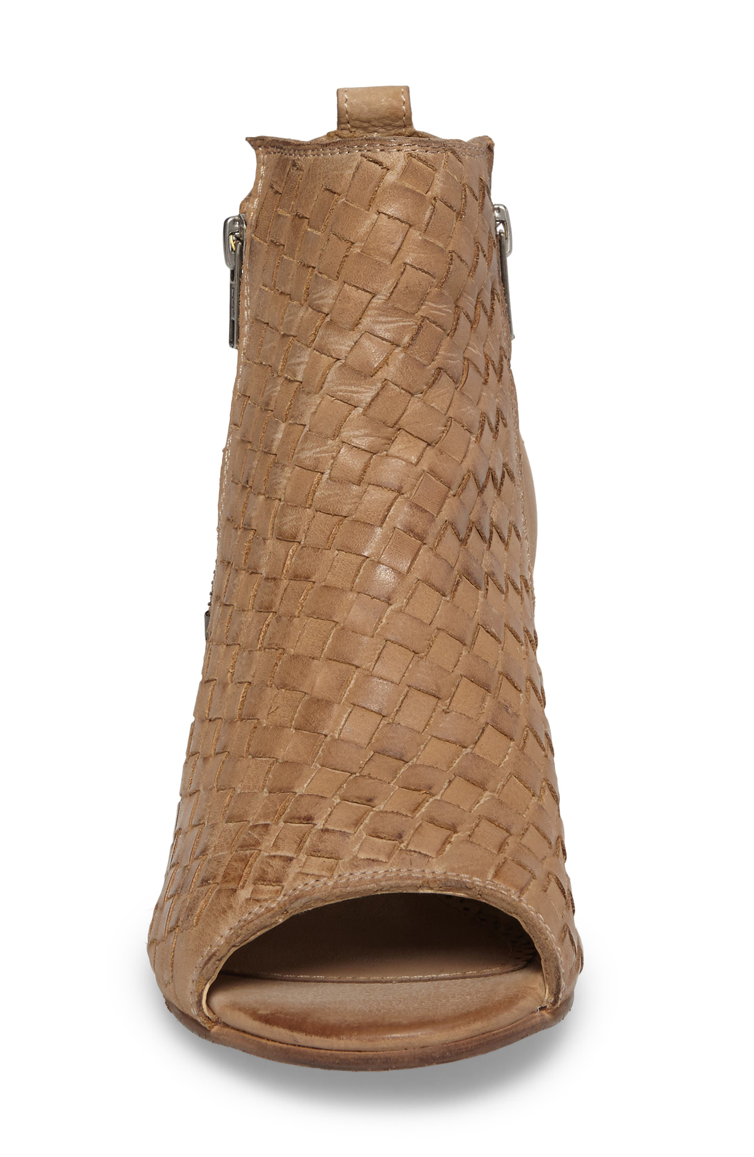 Cacey Open Toe Bootie,                             Alternate thumbnail 8, color,