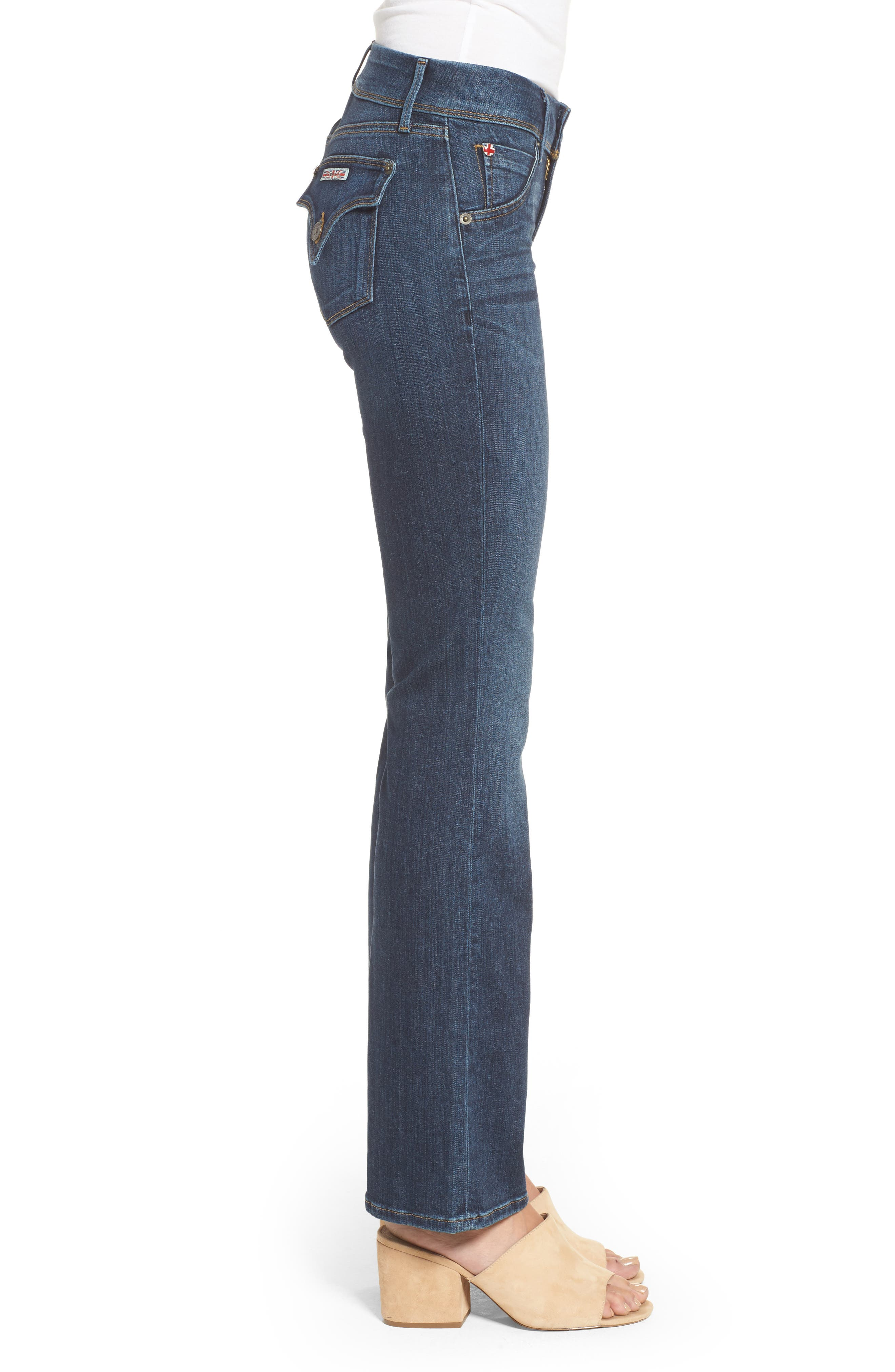 Beth Baby Bootcut Jeans,                             Alternate thumbnail 3, color,                             422