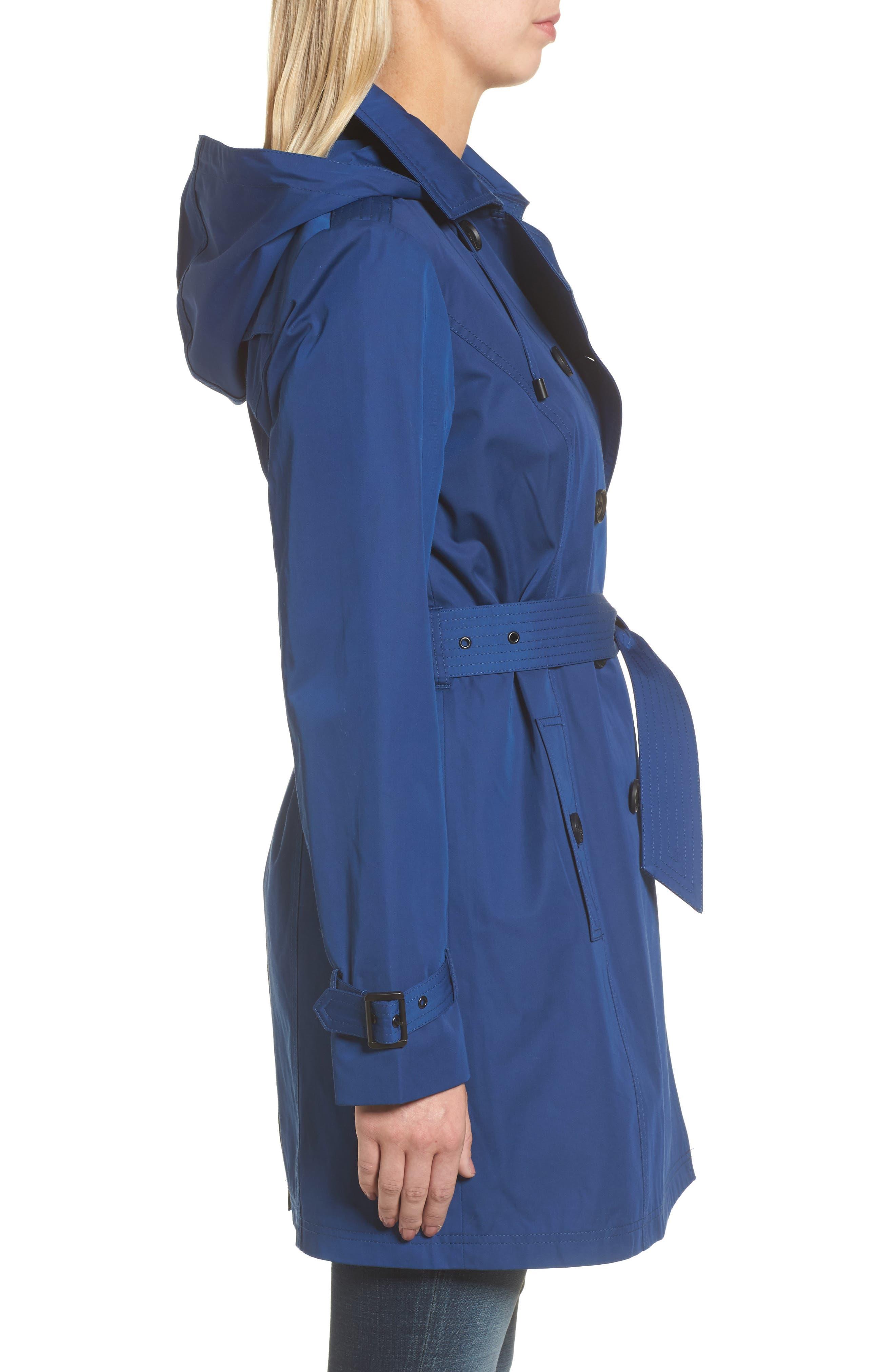 Belted Parka Jacket,                             Alternate thumbnail 8, color,