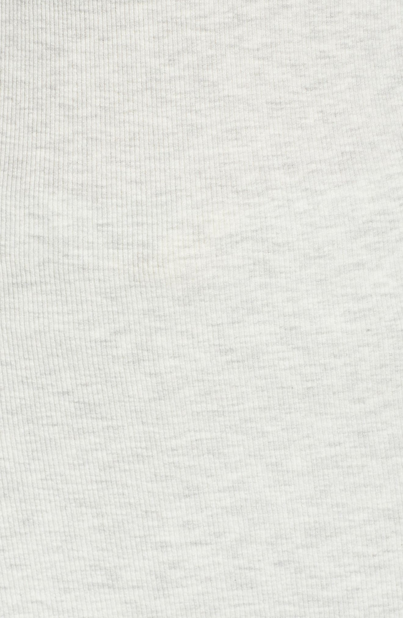 Daydream Long Sleeve Henley,                             Alternate thumbnail 5, color,                             GREY HEATHER