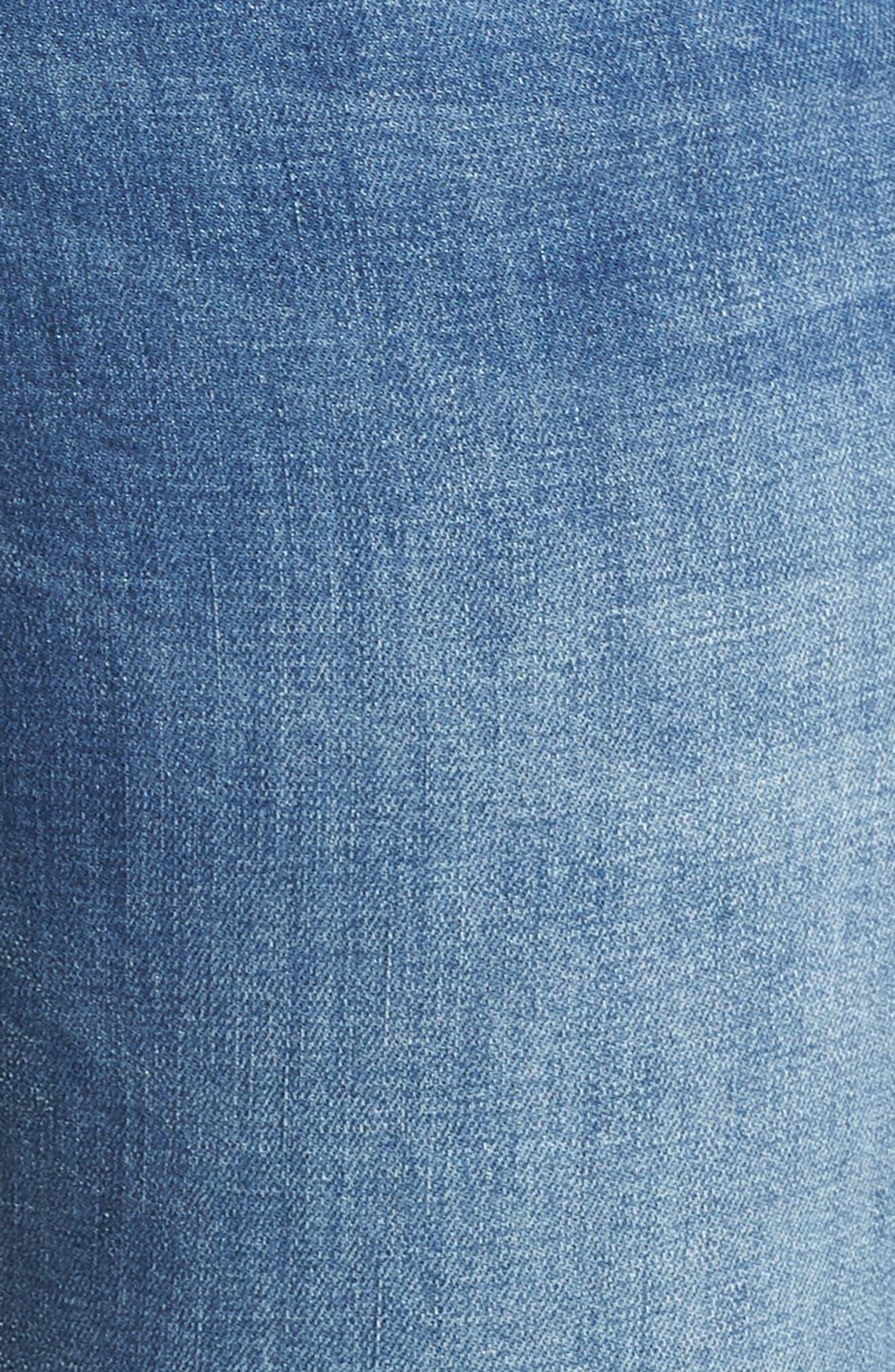 Rocker Skinny Jeans,                             Alternate thumbnail 6, color,                             LADYBIRD
