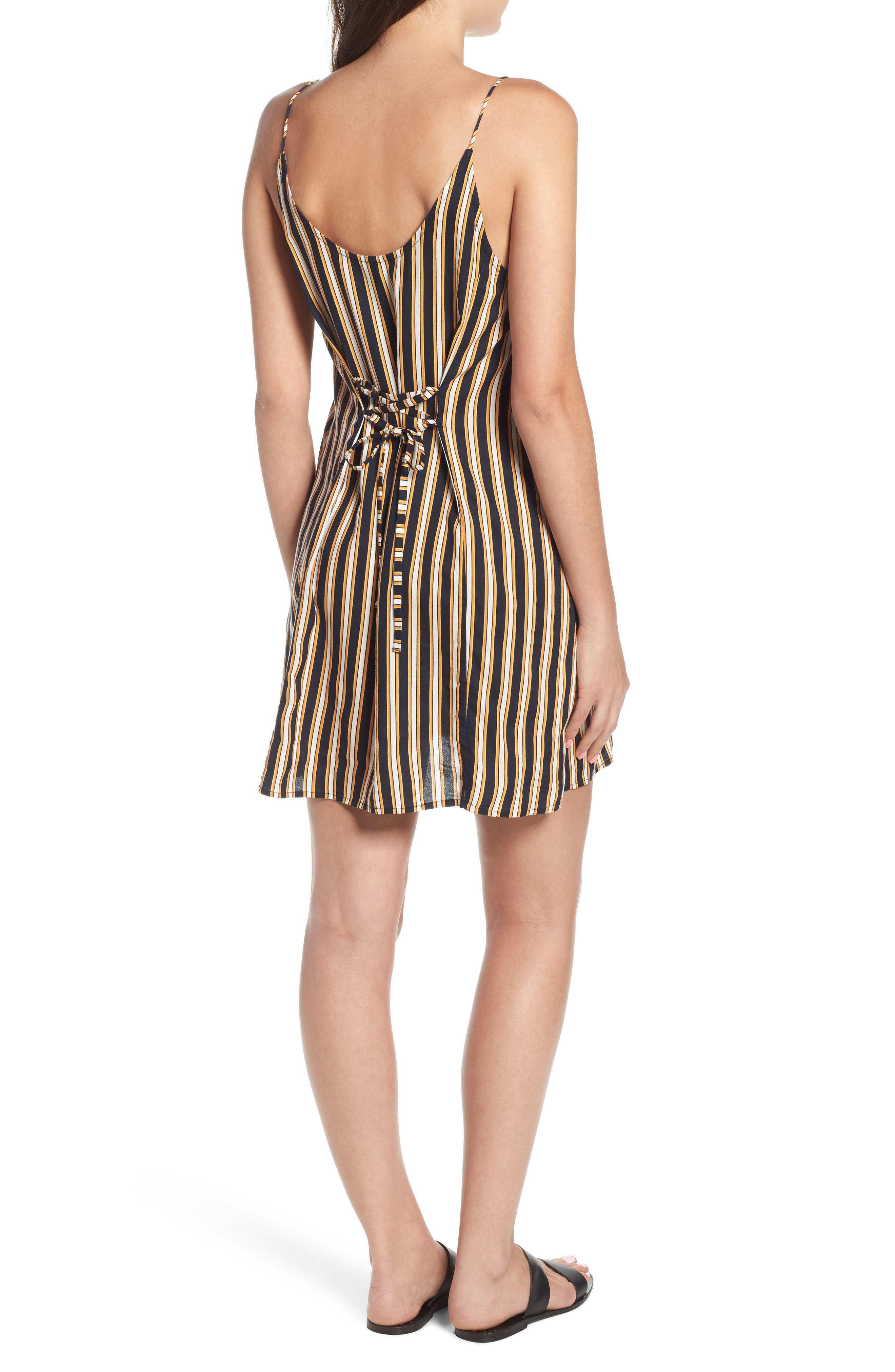 Stoney Stripe Slipdress,                             Alternate thumbnail 2, color,