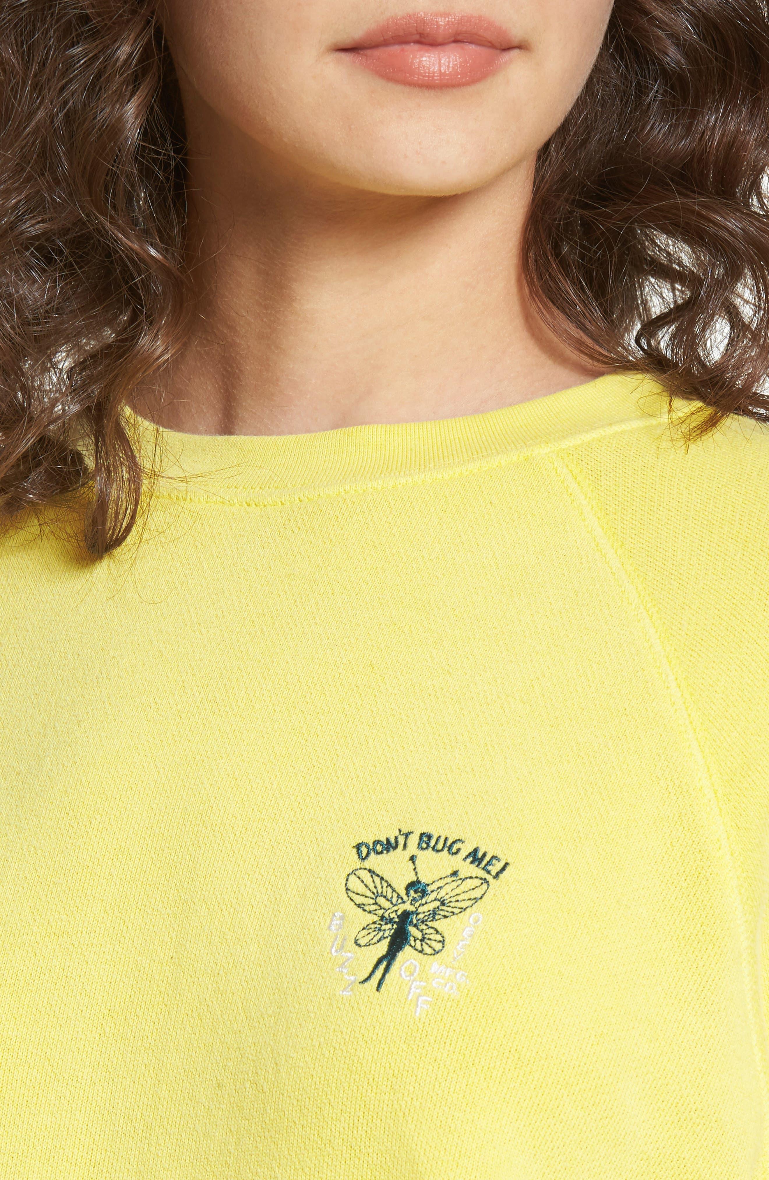 Portola Crew Sweatshirt,                             Alternate thumbnail 4, color,                             750