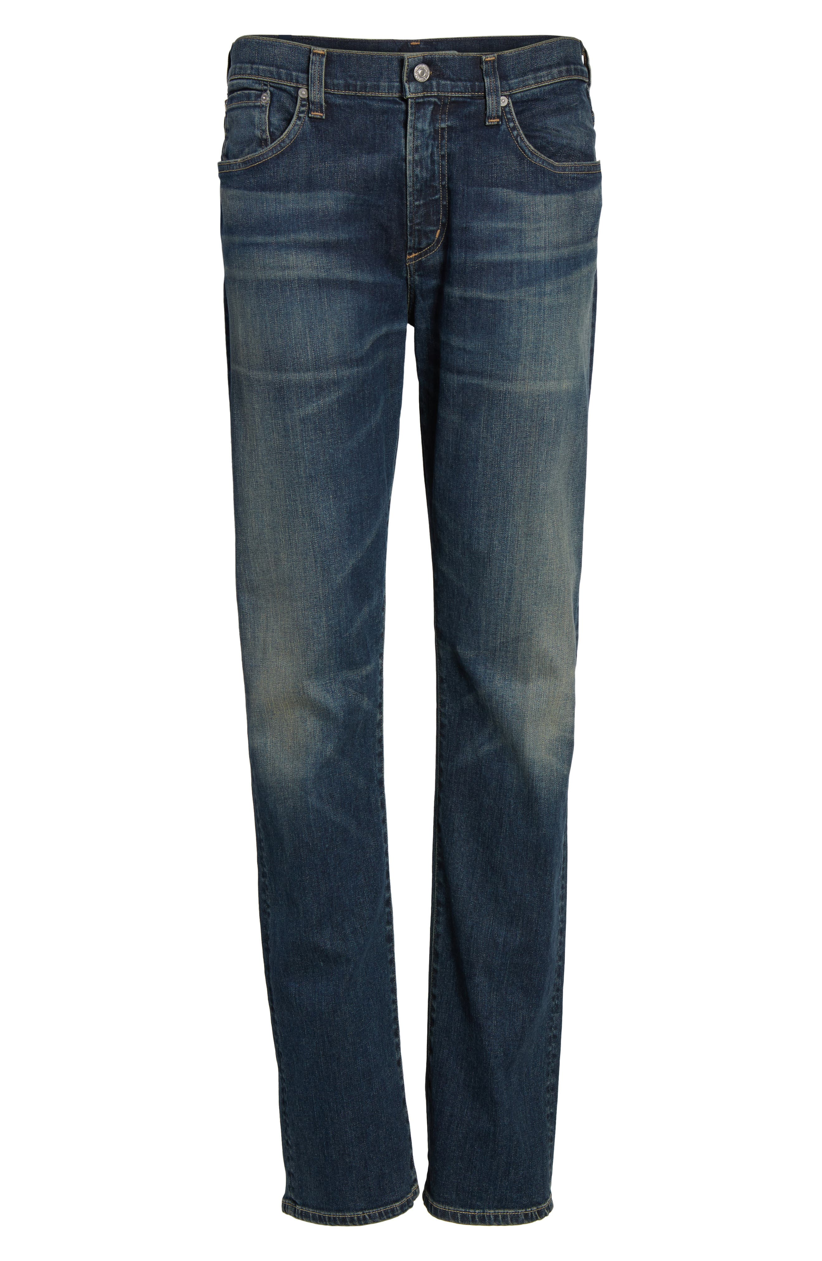 Core Slim Fit Jeans,                             Alternate thumbnail 6, color,                             472