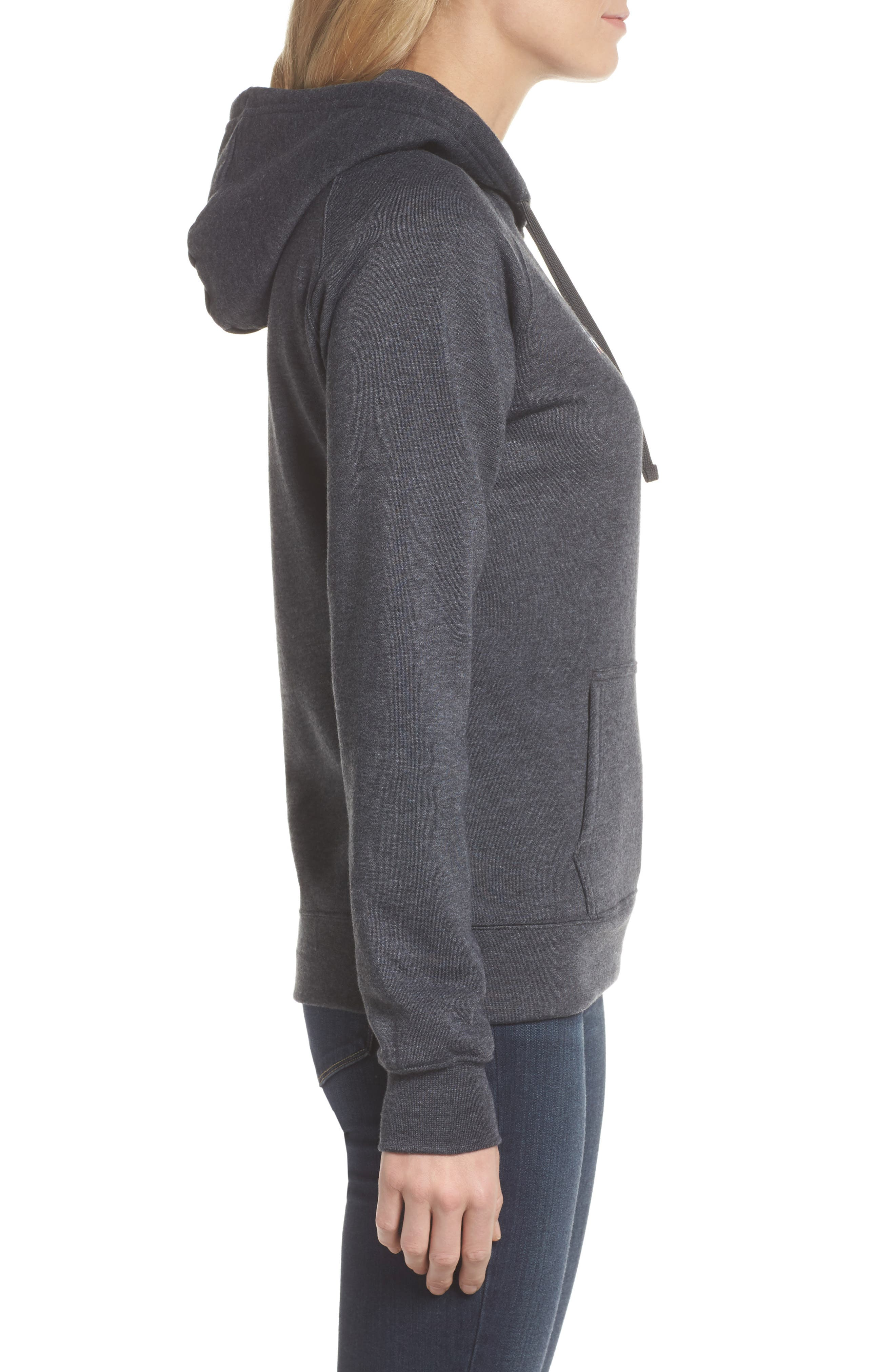International Collection USA Pullover Hoodie,                             Alternate thumbnail 3, color,                             021