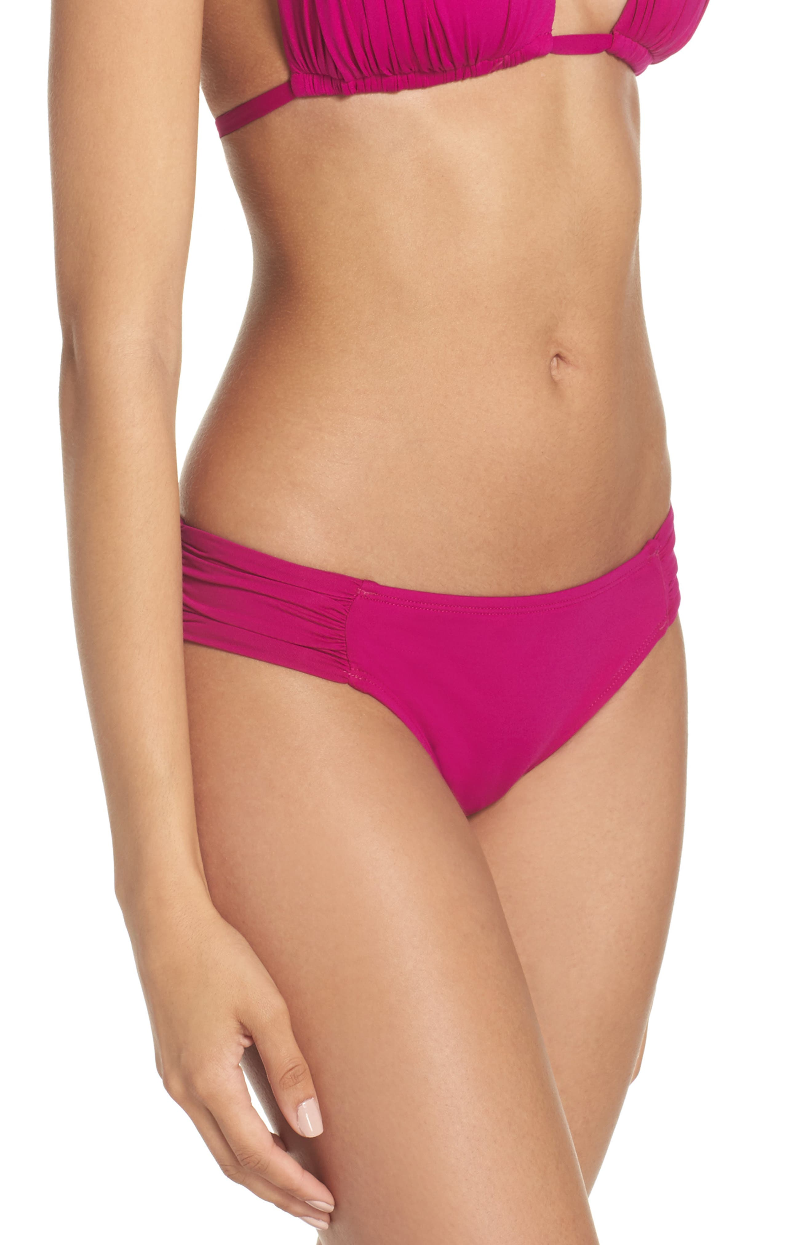 Island Goddess Hipster Bikini Bottoms,                             Alternate thumbnail 47, color,