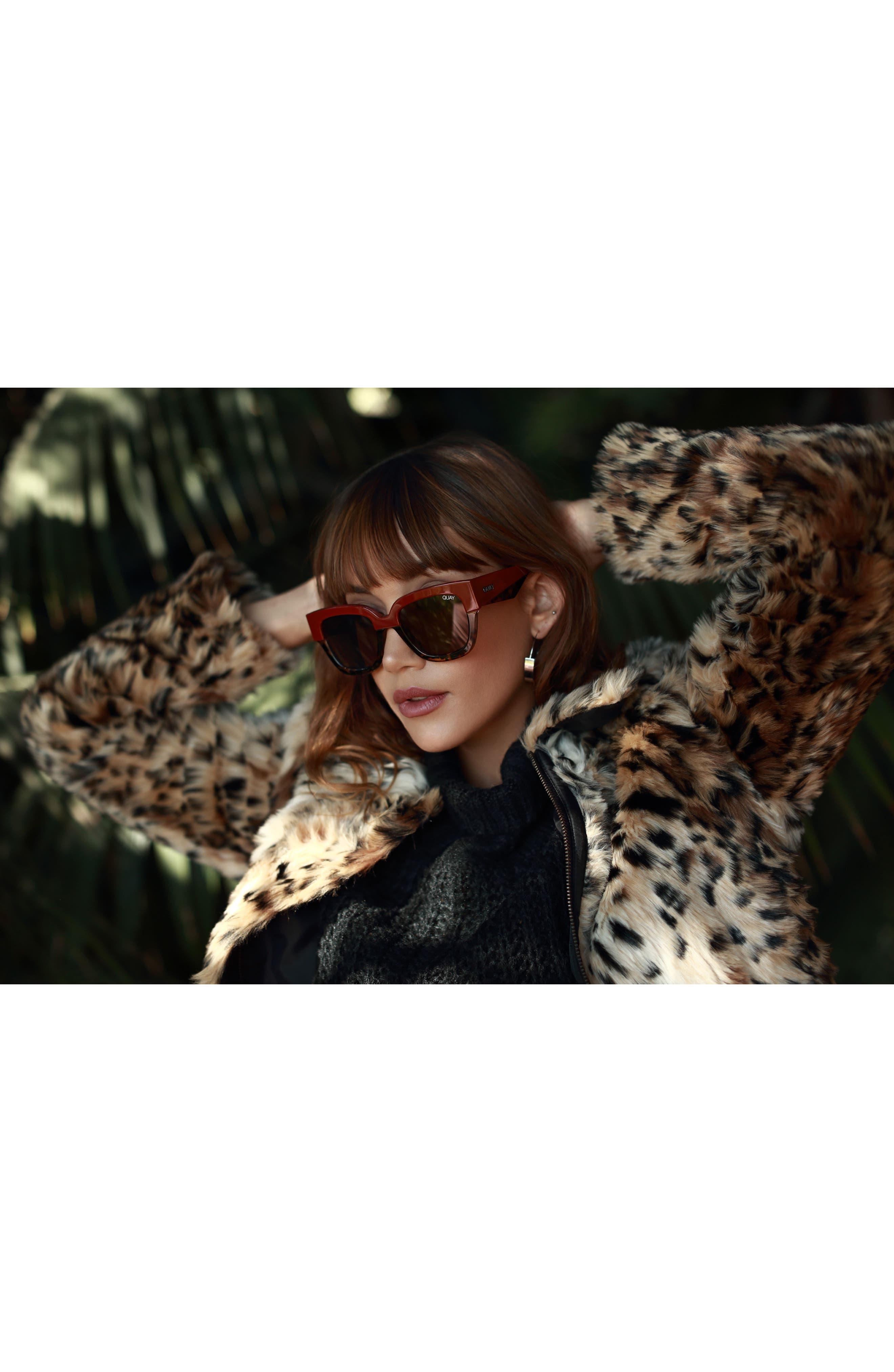55mm Don't Stop Sunglasses,                             Alternate thumbnail 8, color,