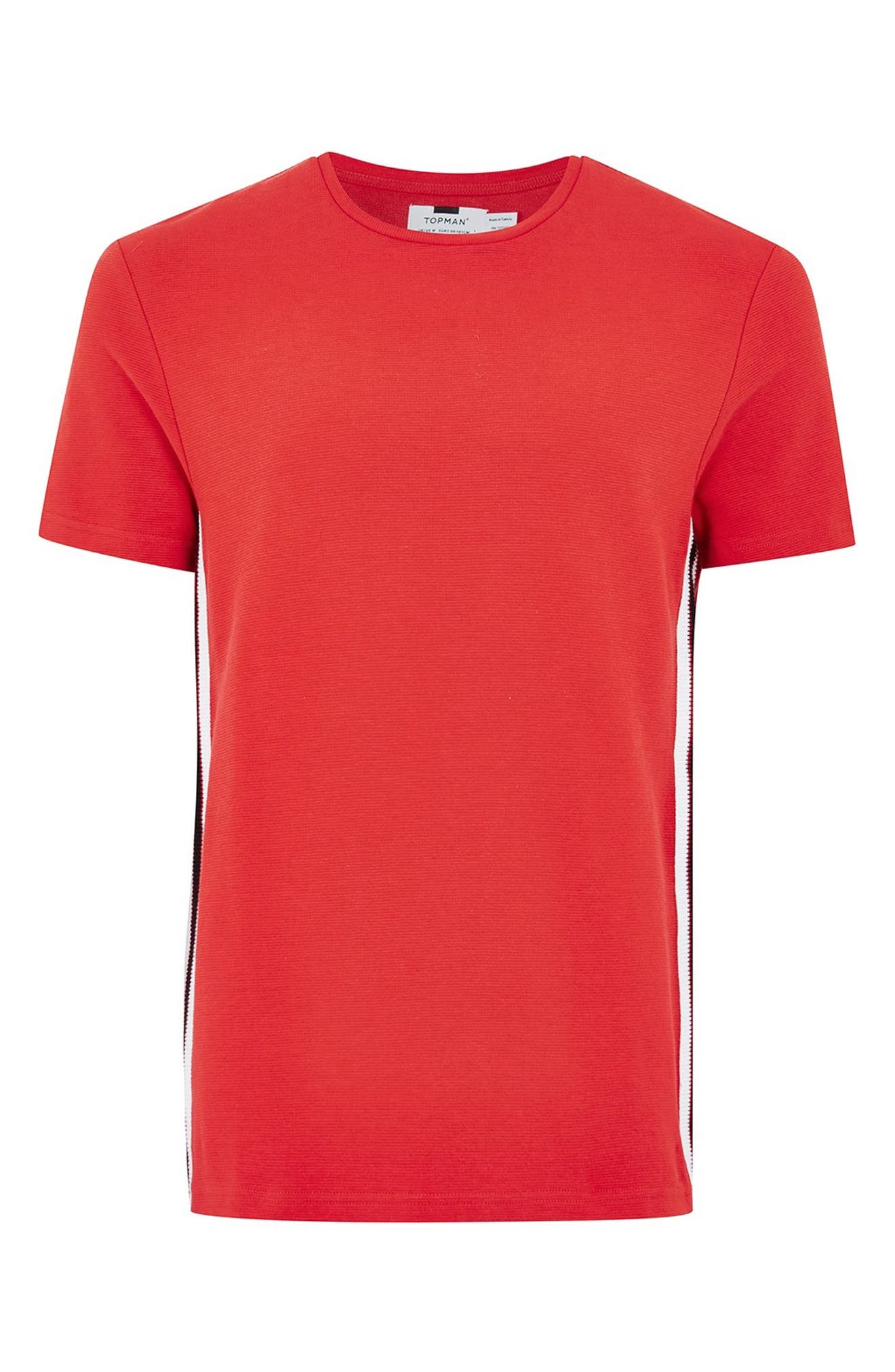 Taping Classic Fit T-Shirt,                             Alternate thumbnail 5, color,                             600