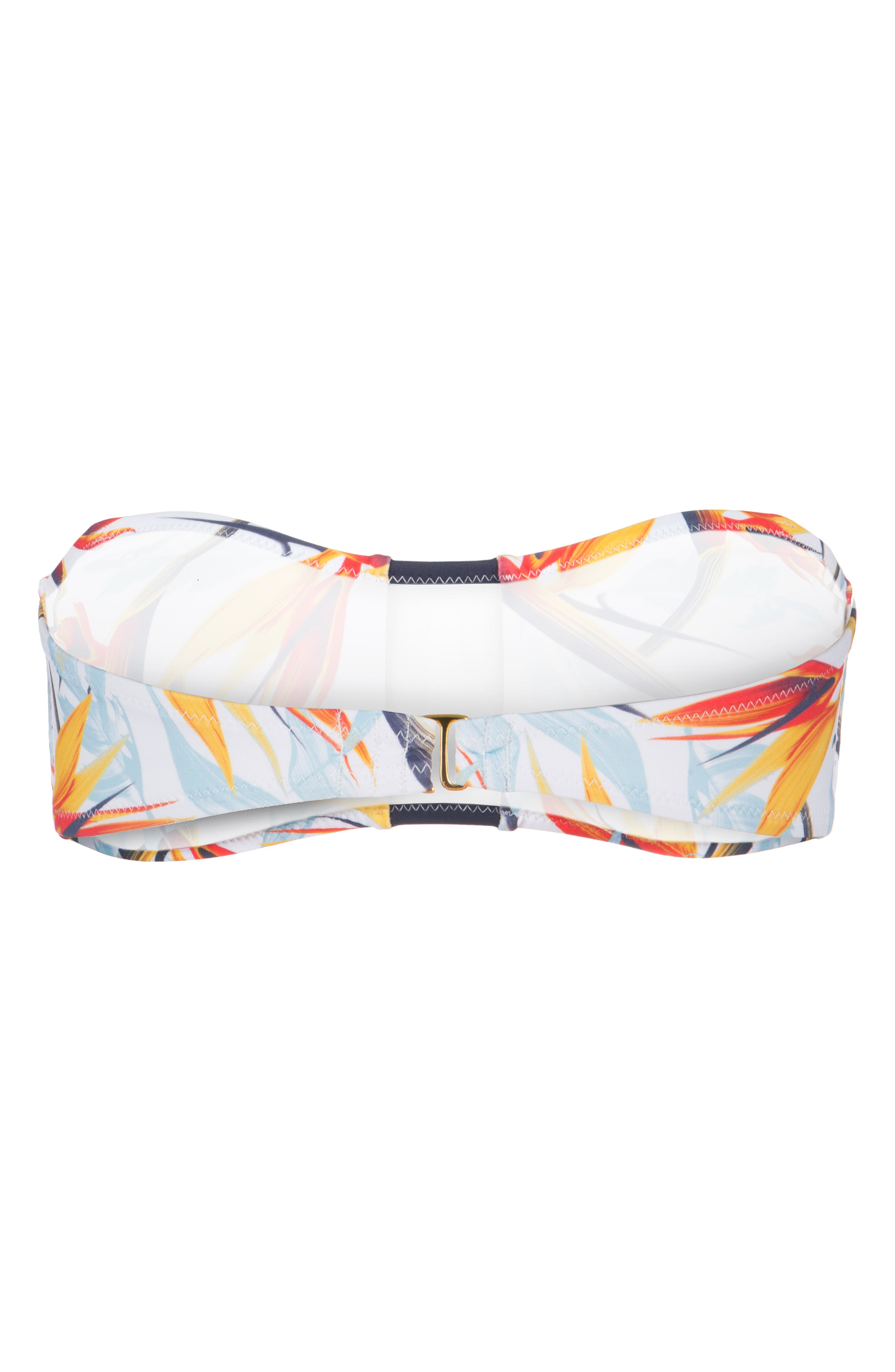 The Bandeau,                             Alternate thumbnail 4, color,                             DAYBREAK PRINT AND LIVELY NAVY