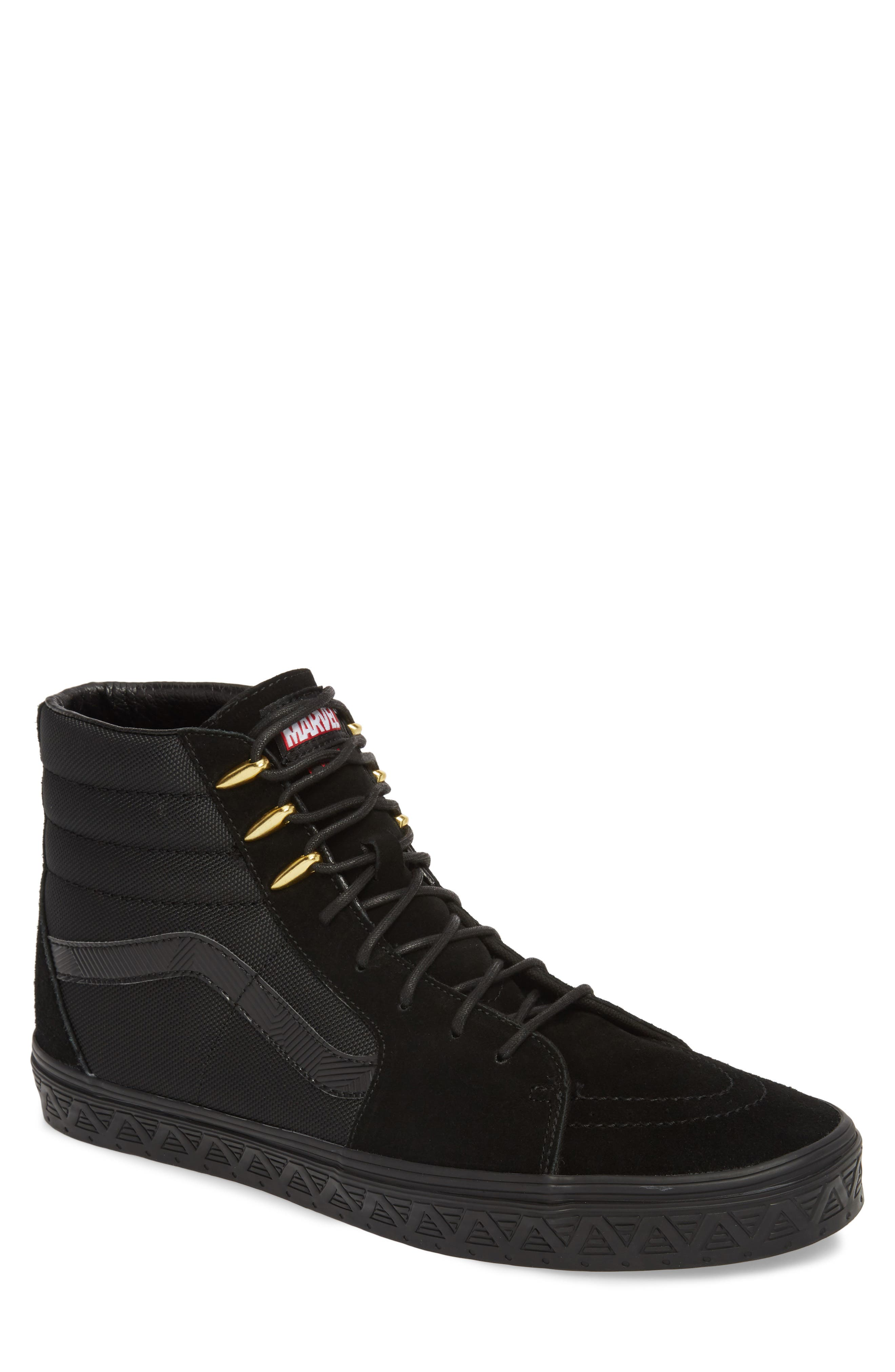 x Marvel<sup>®</sup> UA Sk8-Hi Sneaker,                         Main,                         color, 001