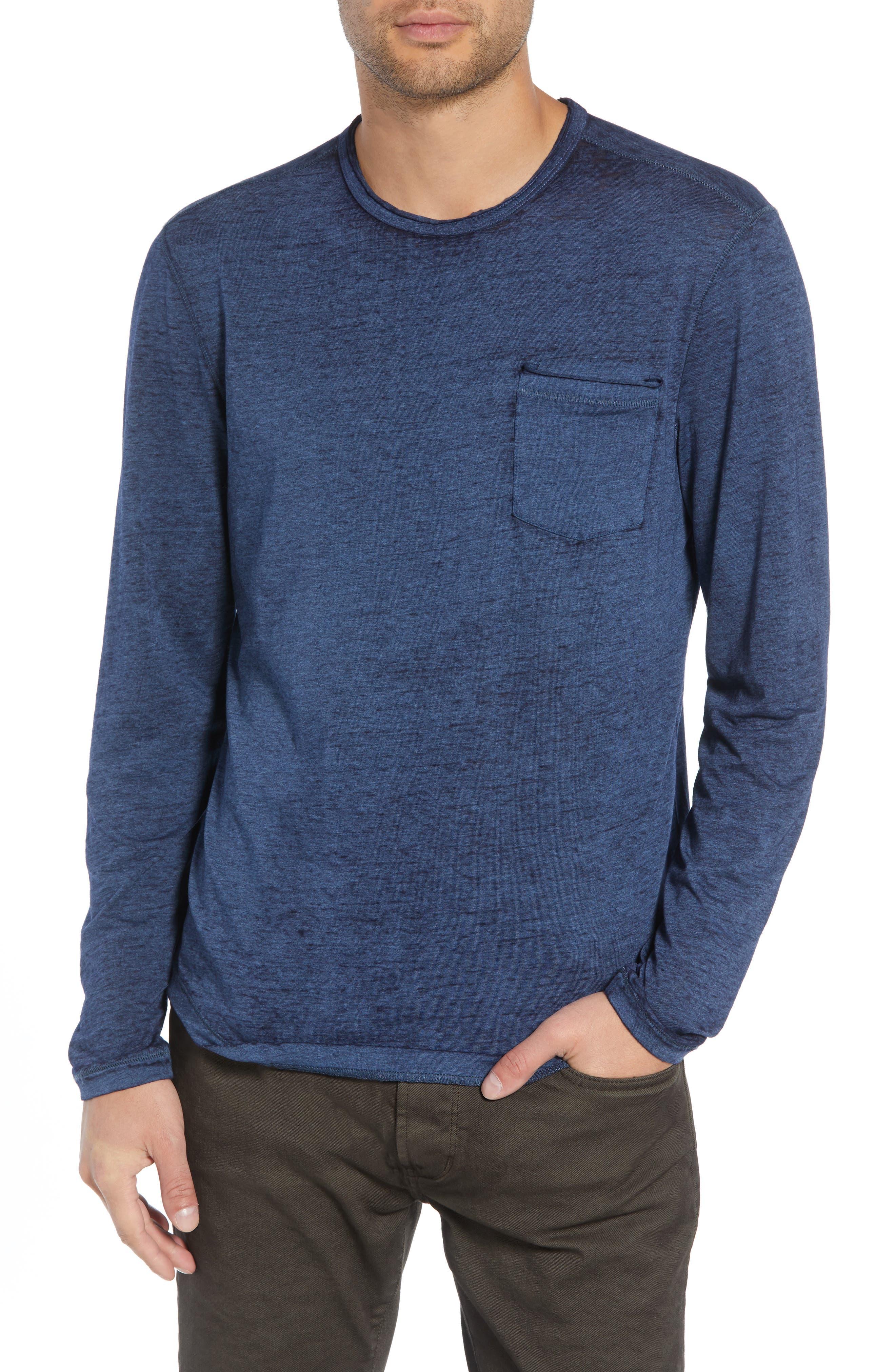 Burnout Long Sleeve T-Shirt,                             Main thumbnail 1, color,                             410