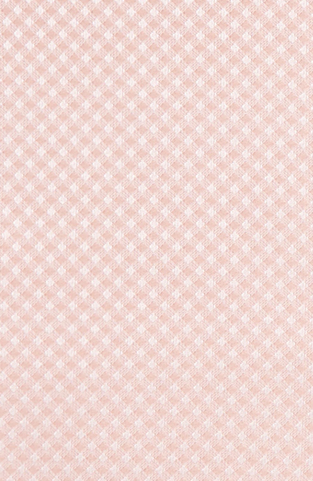 Check Silk Pocket Square,                             Alternate thumbnail 3, color,                             682