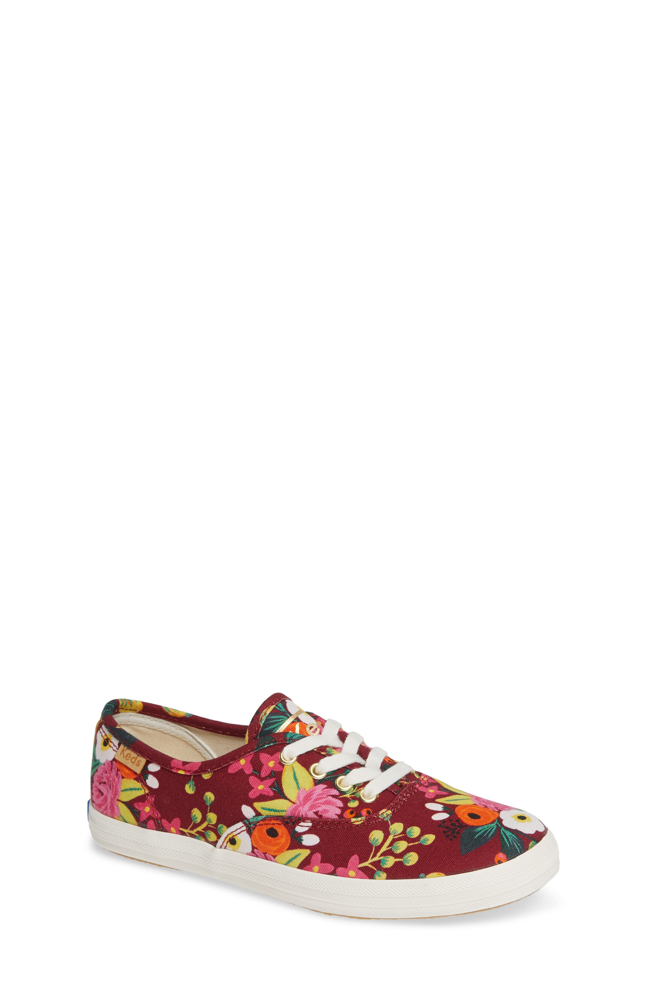 x Rifle Paper Co. Floral Print Champion Sneaker,                         Main,                         color, VINTAGE BLOSSOM