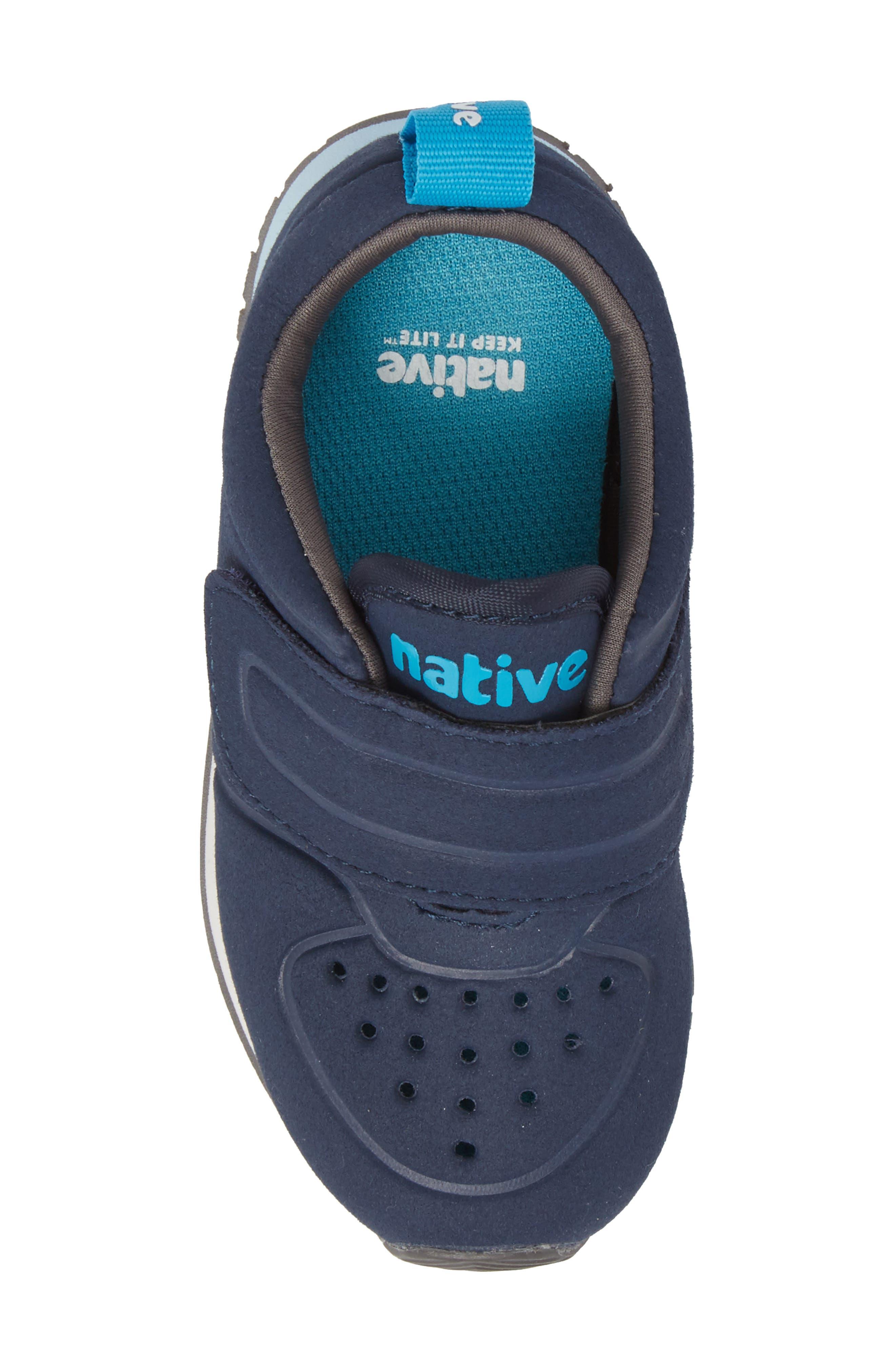 Native Cornell Perforated Sneaker,                             Alternate thumbnail 5, color,                             REGATTA BLUE/ SHELL WHITE