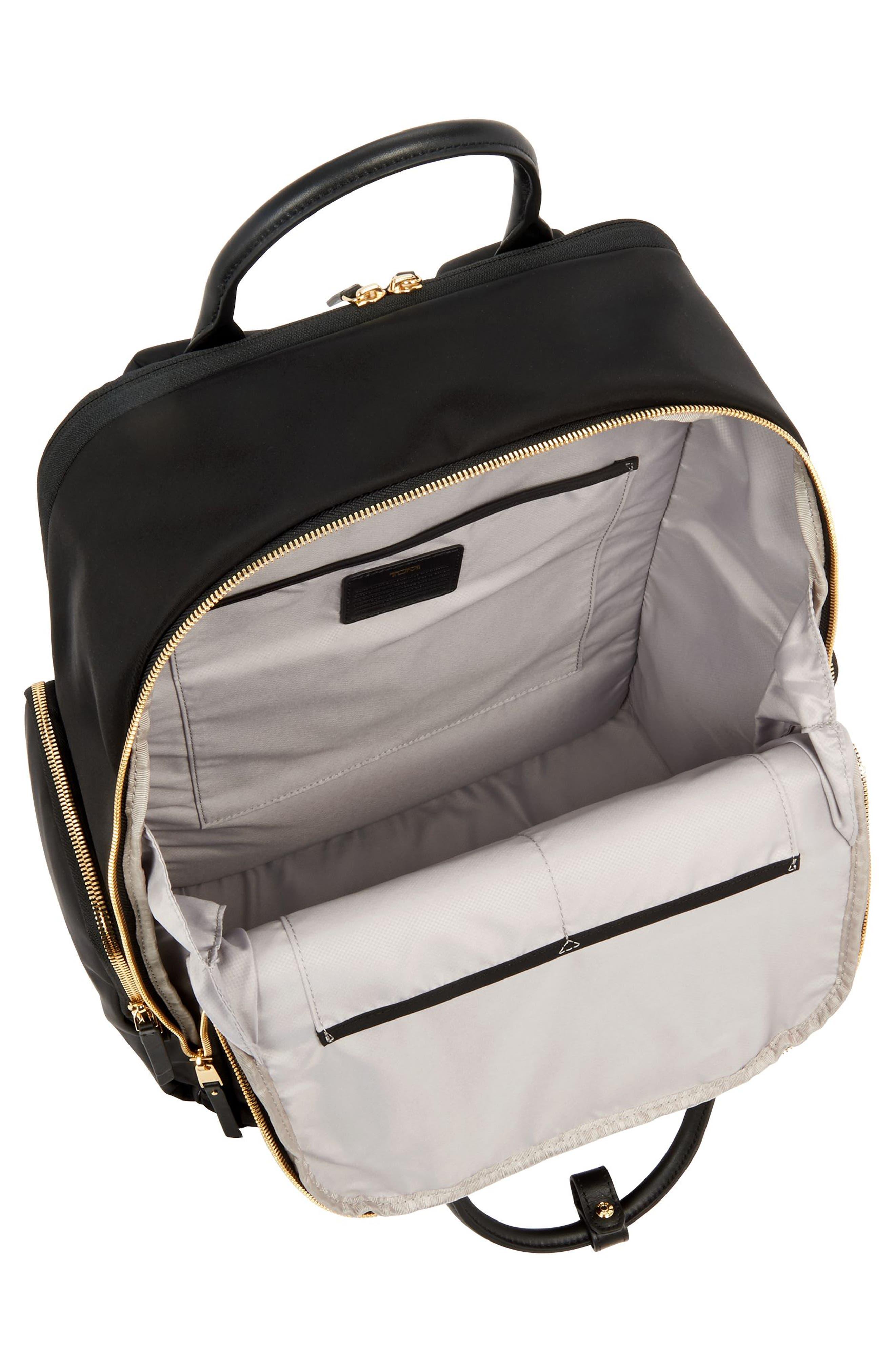 Voyager Ursula Nylon Backpack,                             Alternate thumbnail 3, color,                             001