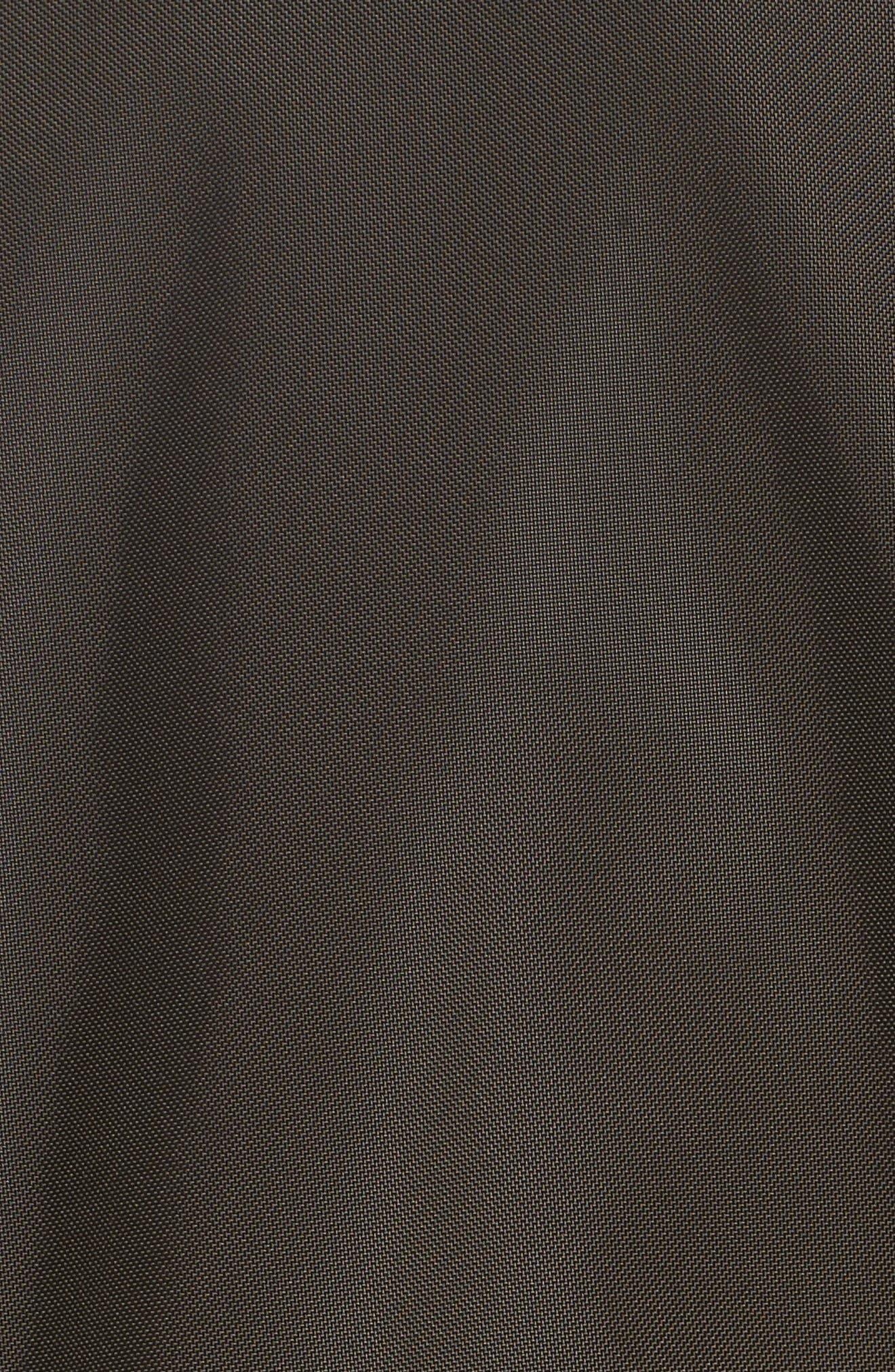 Cobra Aviator Jacket with Faux Fur Collar,                             Alternate thumbnail 6, color,                             342