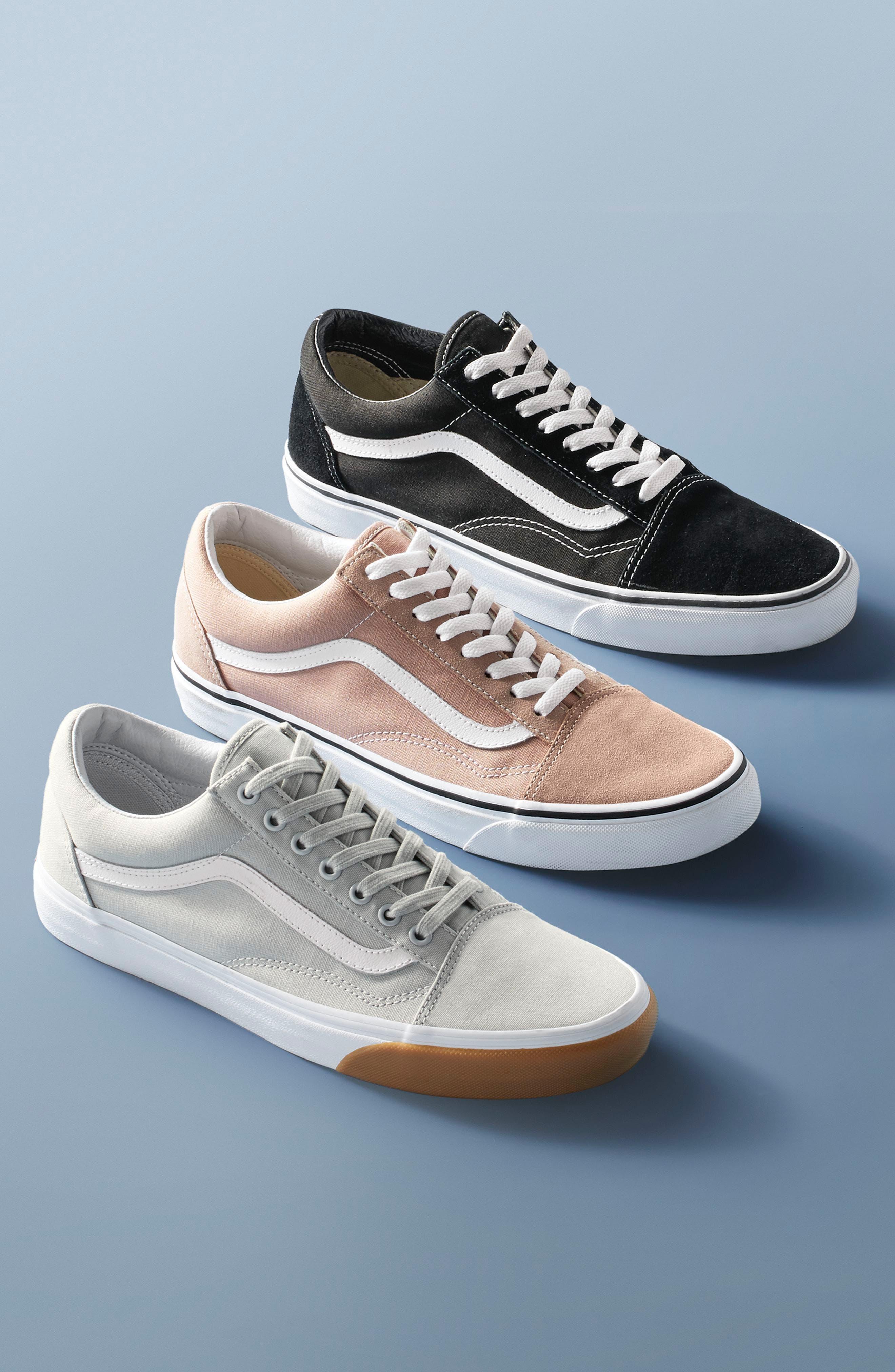 'Old Skool' Sneaker,                             Alternate thumbnail 10, color,                             DEEP GRASS GREEN/ TRUE WHITE