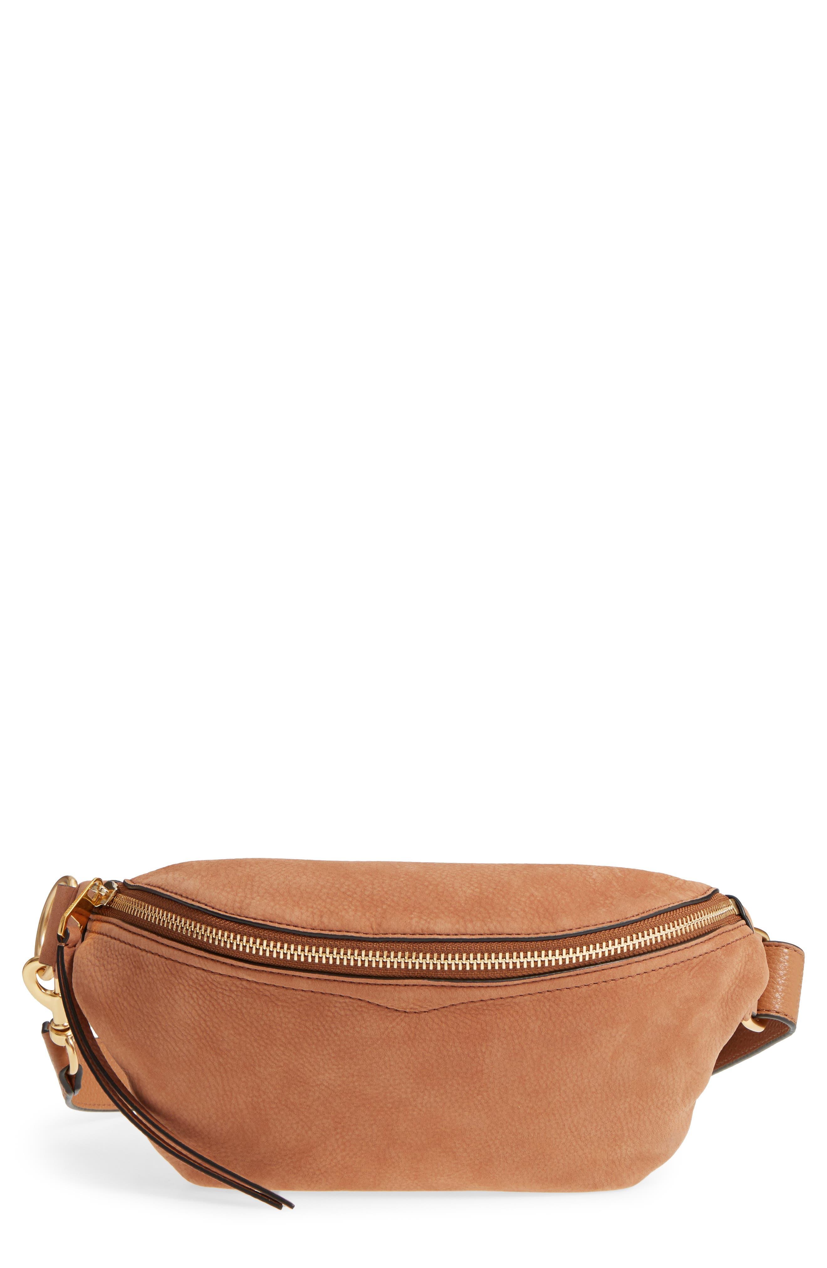 Bree Leather Belt Bag, Main, color, 230