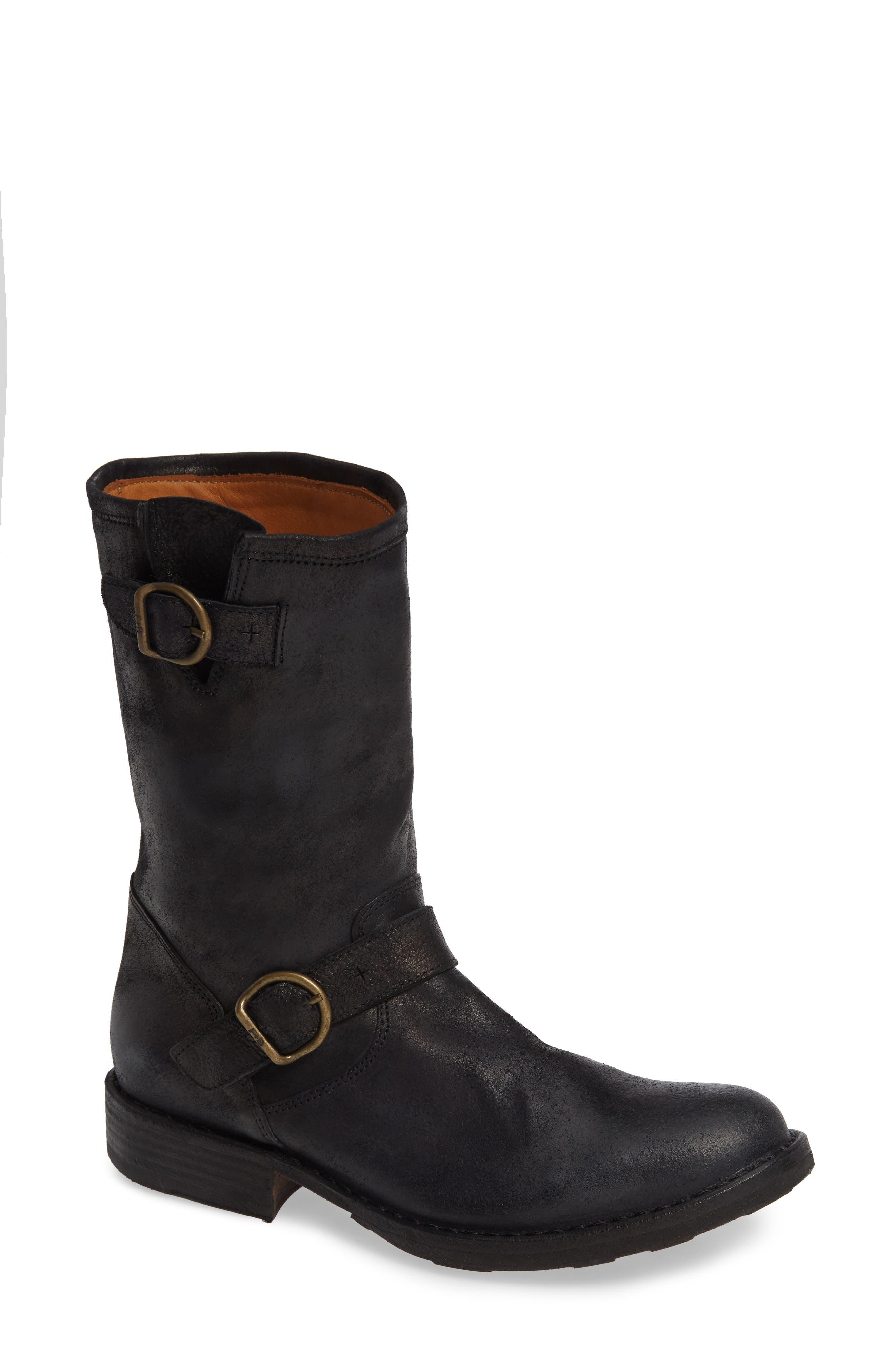 FIORENTINI + BAKER Edles Boot in Black Leather