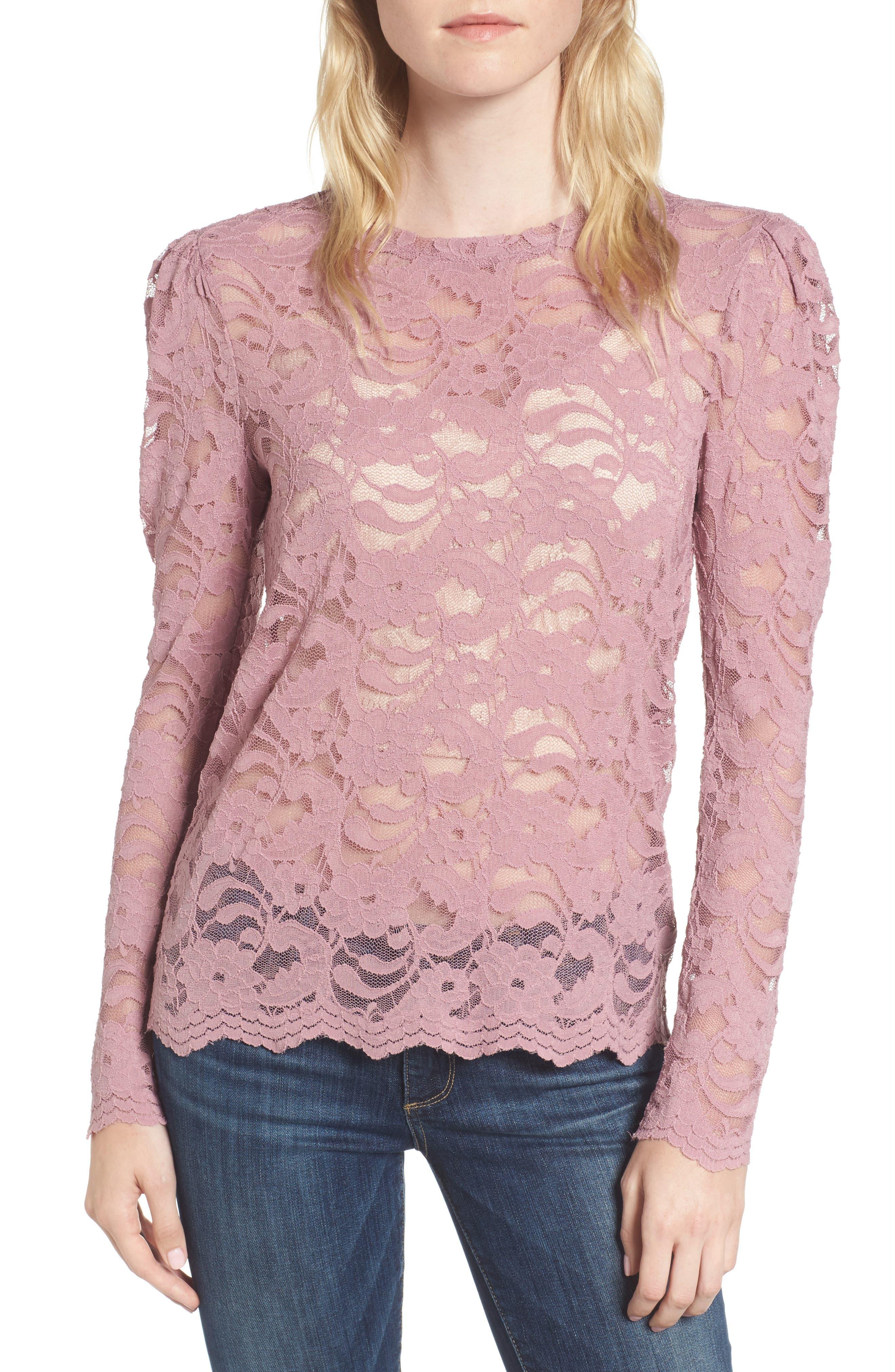 Lace Top,                         Main,                         color, 500