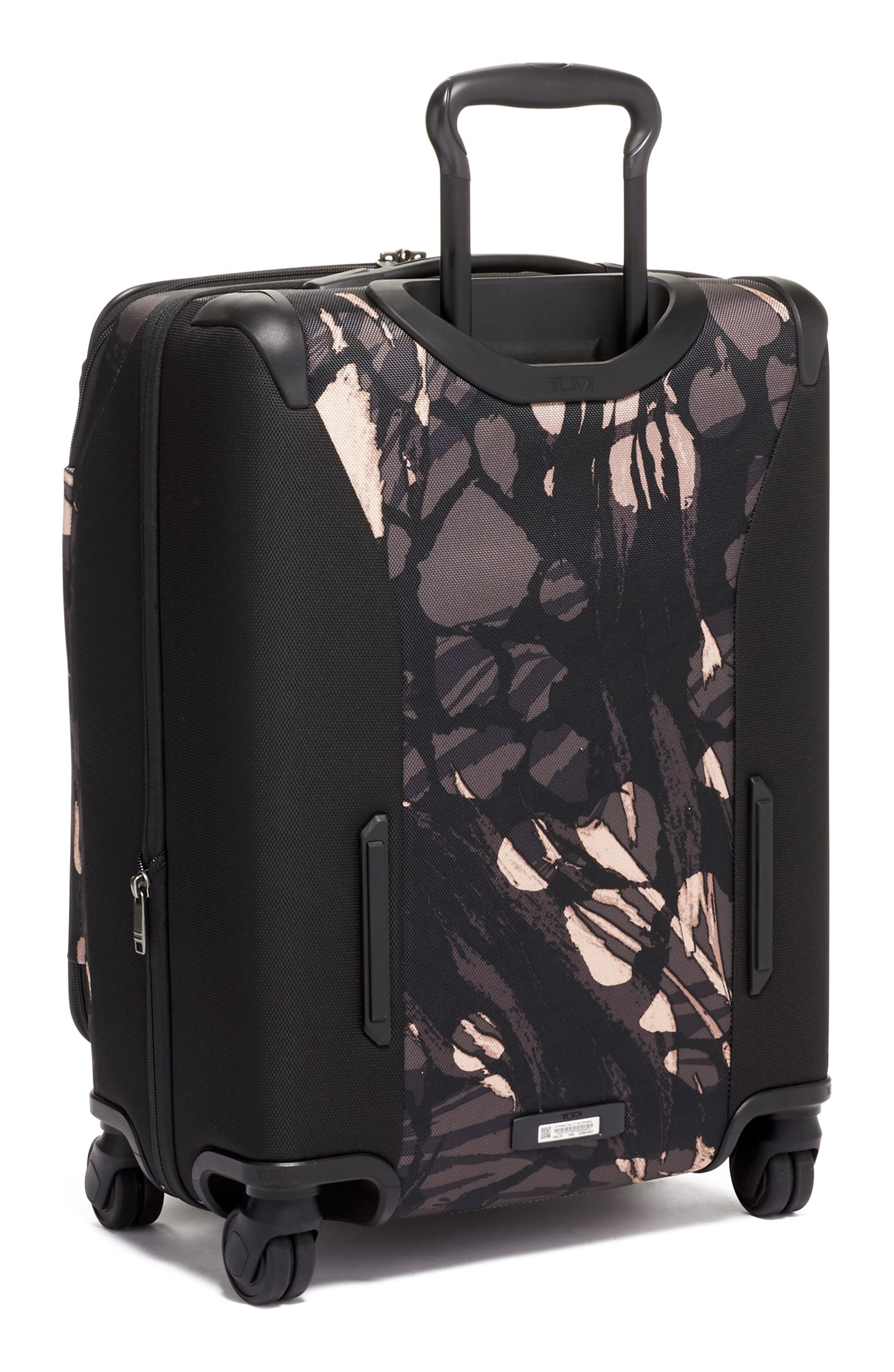 TUMI,                             Merge 22-Inch Continental Expandable Rolling Carry-On,                             Alternate thumbnail 4, color,                             GREY HIGHLANDS PRINT