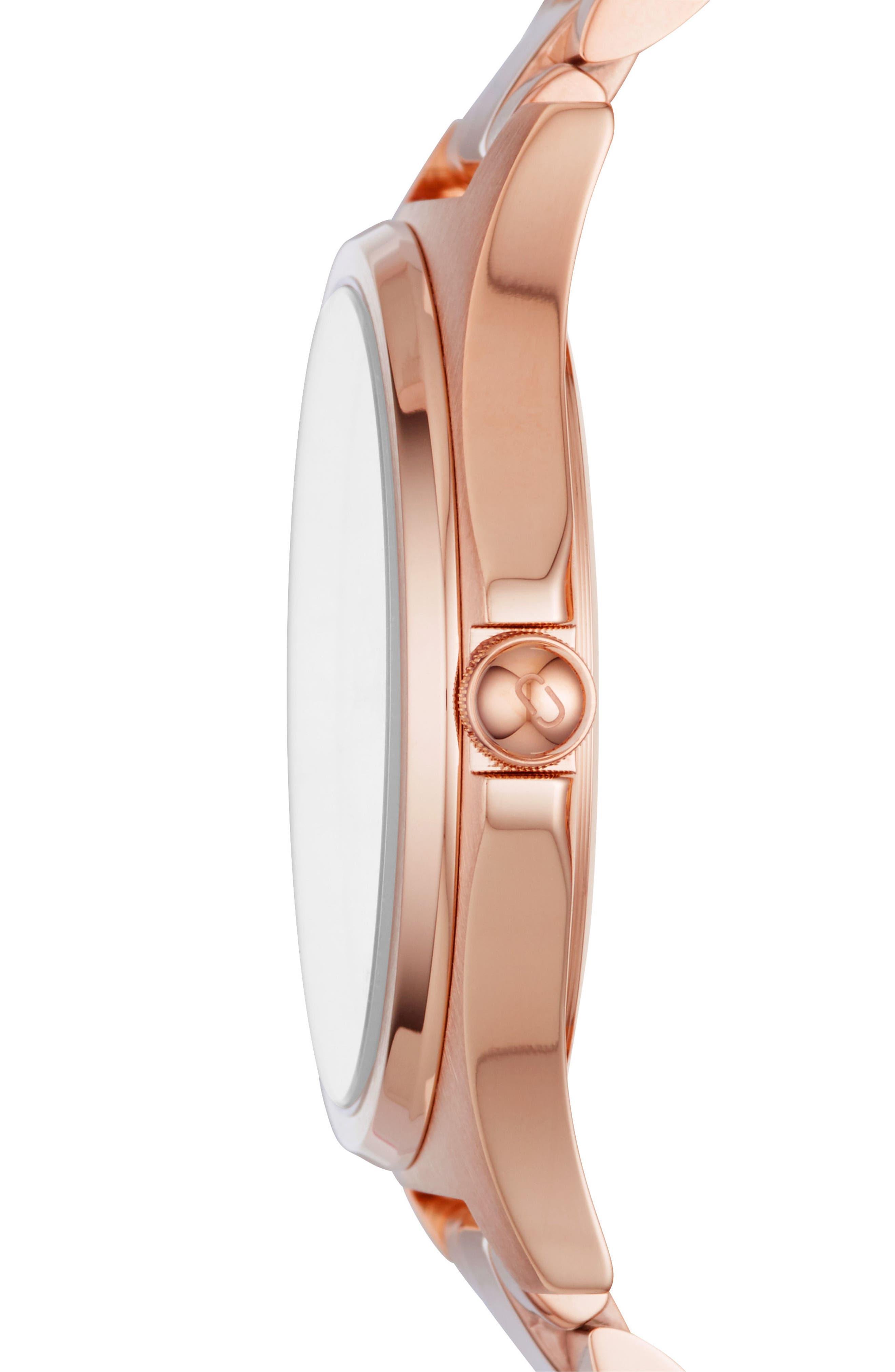 Henry Bracelet Watch, 39mm,                             Alternate thumbnail 2, color,                             ROSE GOLD TONE