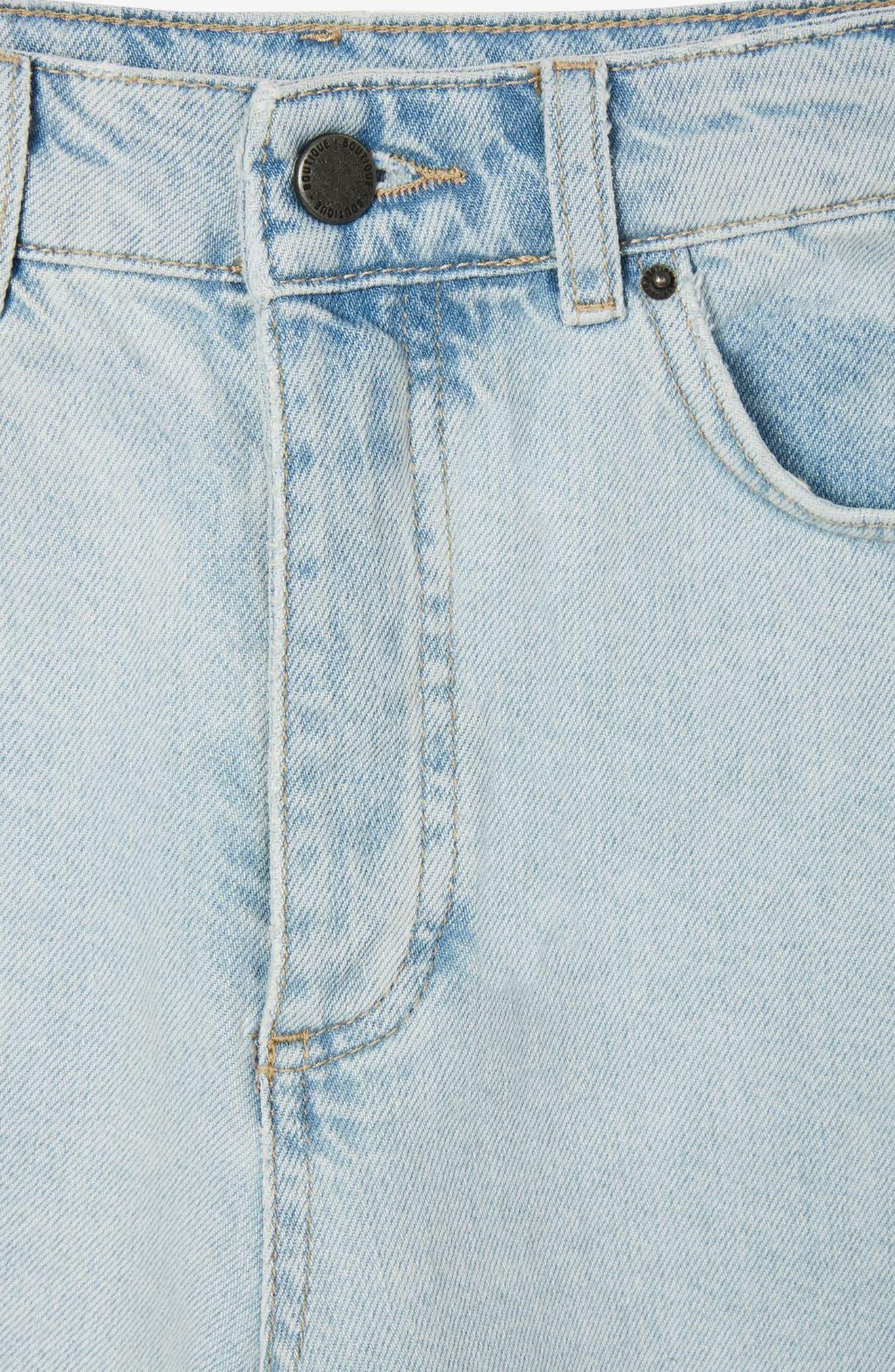 Bleach Denim Board Shorts,                             Alternate thumbnail 8, color,                             420