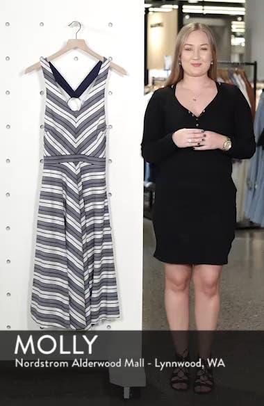 Stripe V-Neck Dress, sales video thumbnail