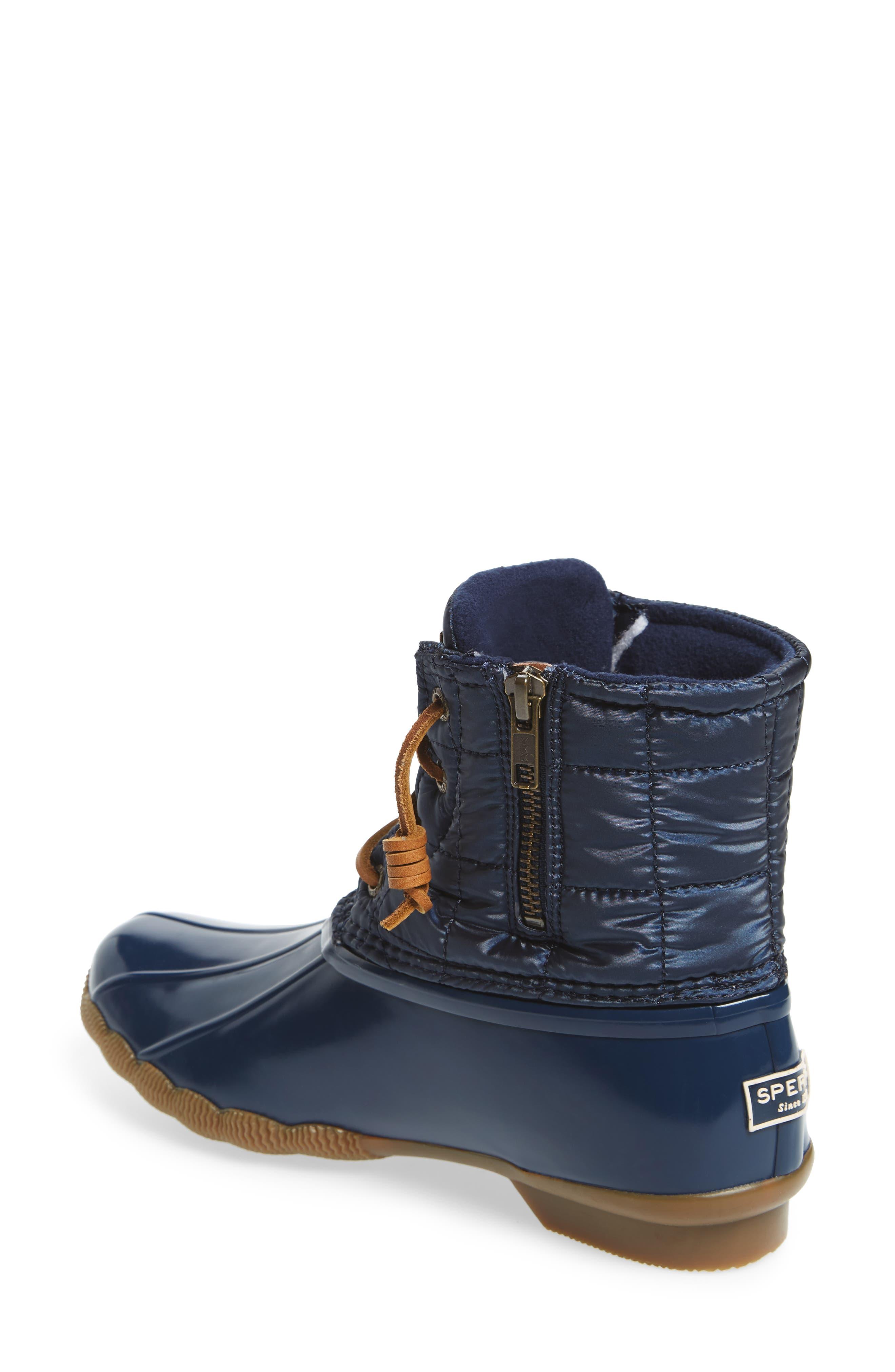 'Saltwater' Waterproof Rain Boot,                             Alternate thumbnail 45, color,