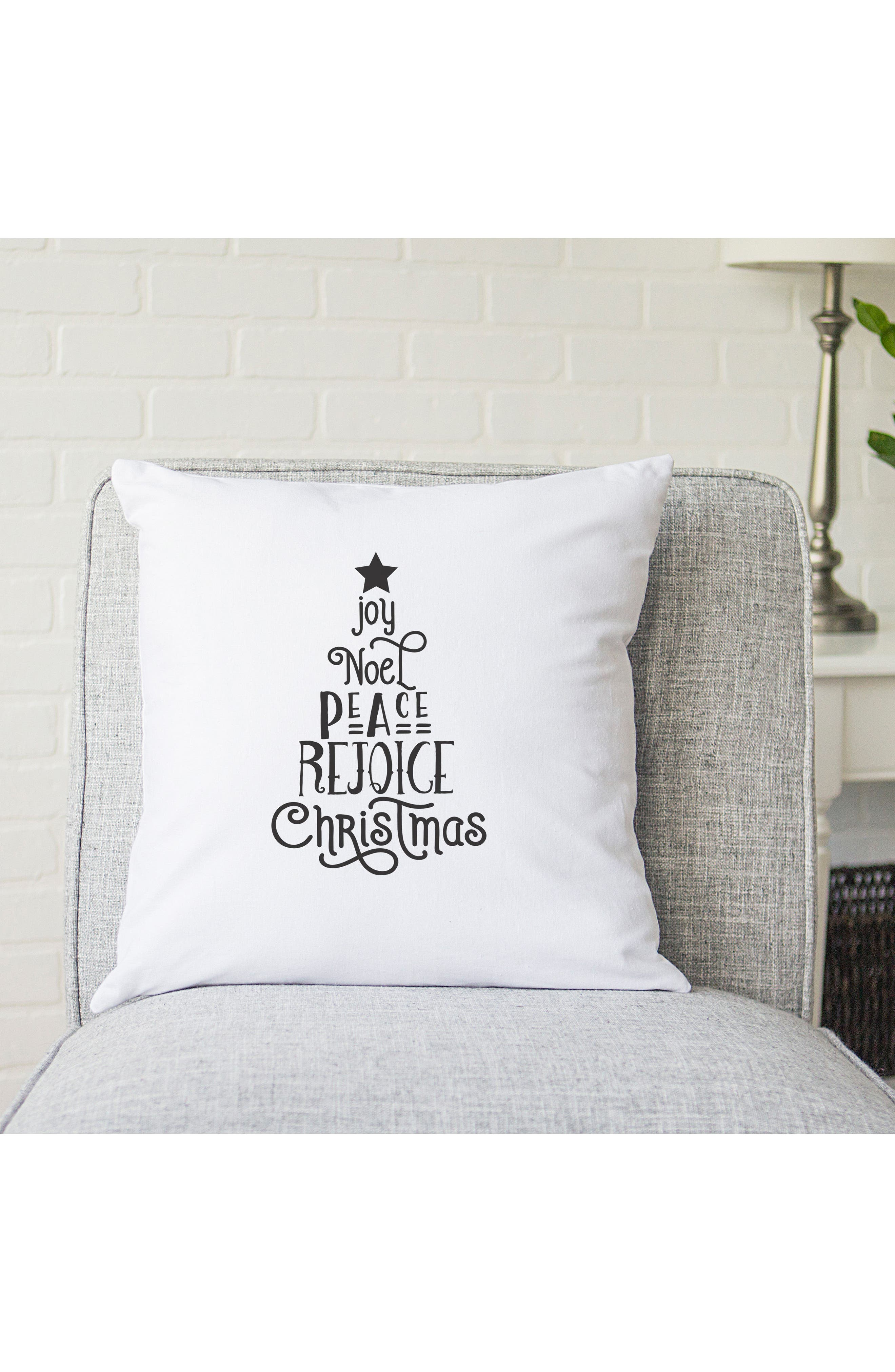 Christmas Tree Accent Pillow,                             Alternate thumbnail 3, color,                             020