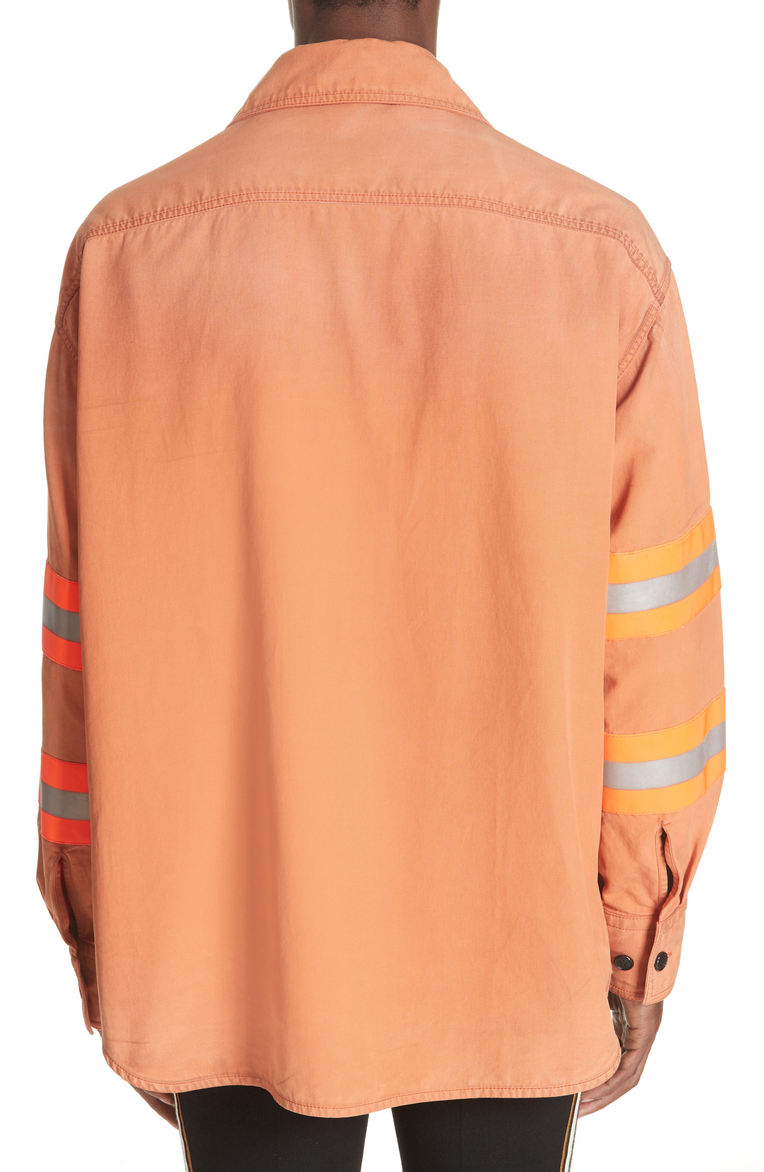 Fireman Jacket,                             Alternate thumbnail 2, color,                             BRIGHT RUST