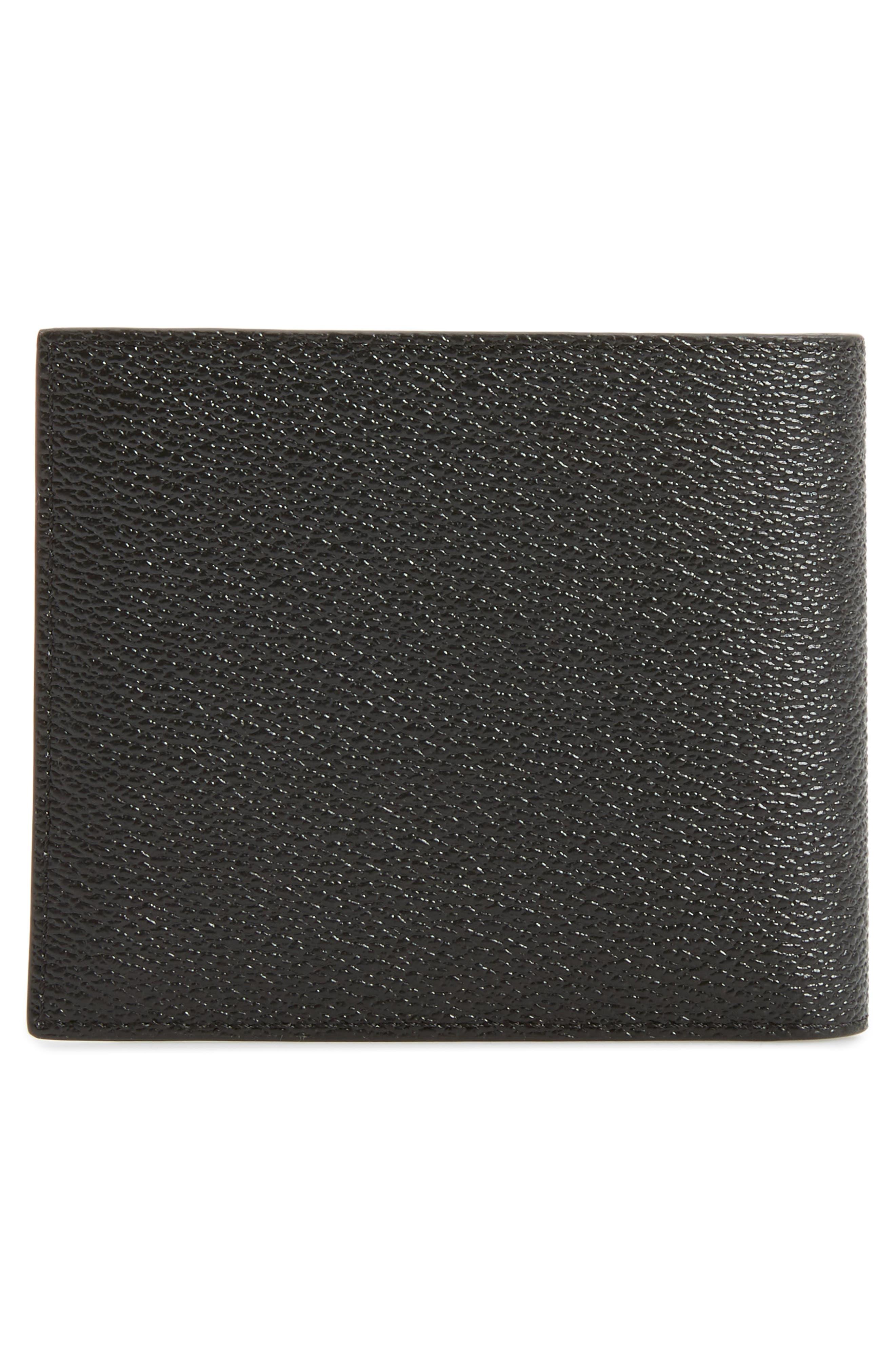 Shark Print Faux Leather Wallet,                             Alternate thumbnail 3, color,                             960