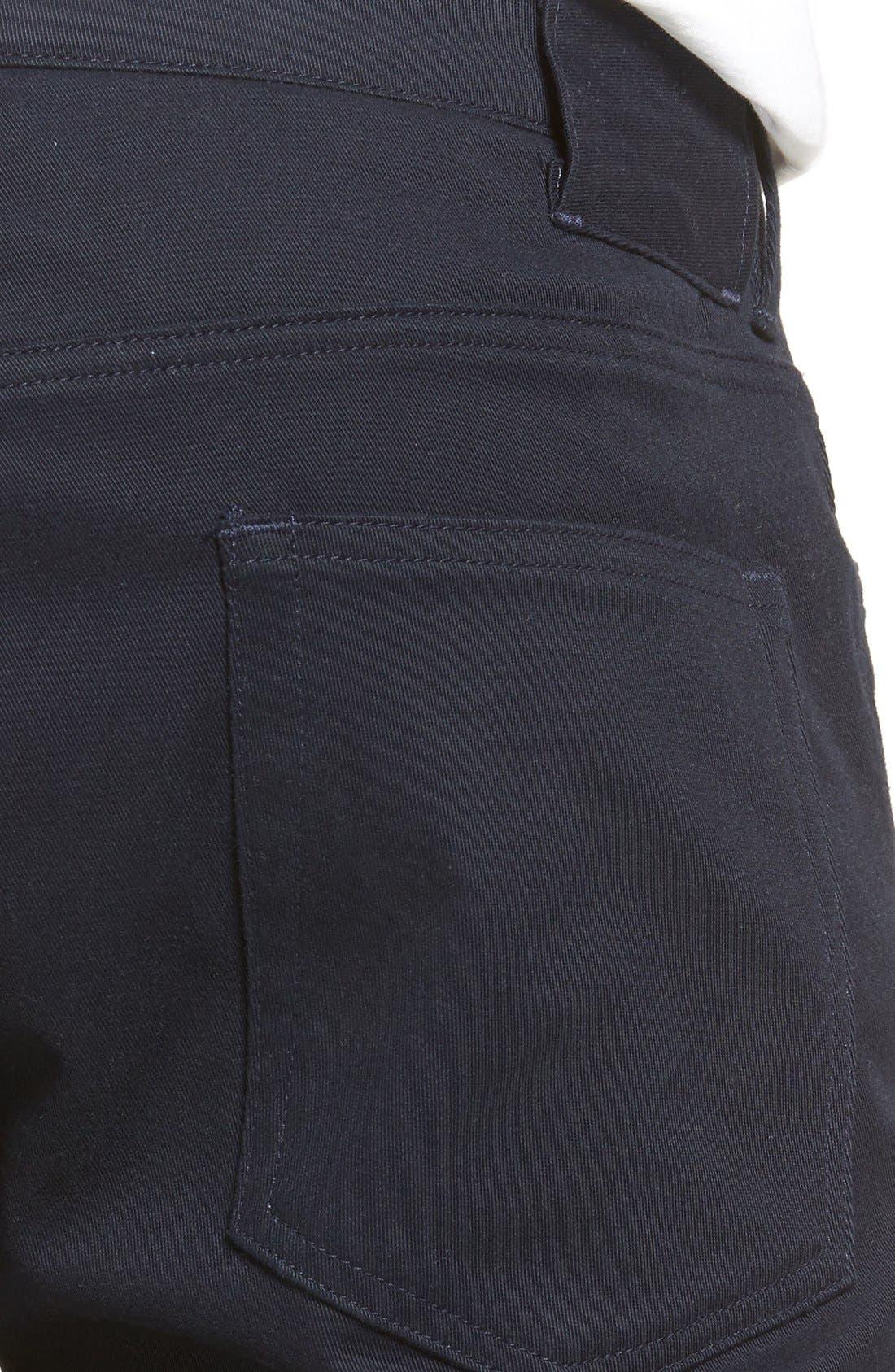 Soho Slim Fit Five-Pocket Pants,                             Alternate thumbnail 6, color,                             COASTAL