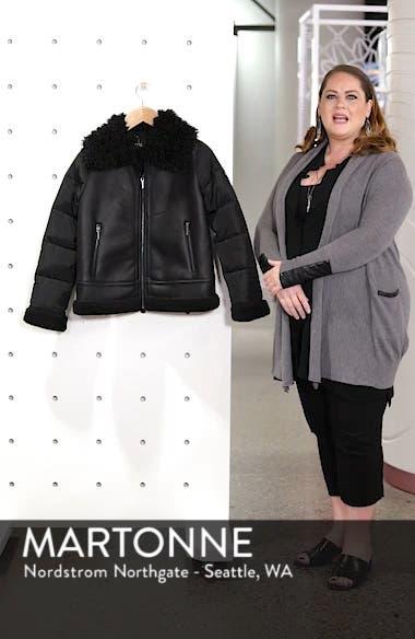 Faux Shearling Hybrid Jacket, sales video thumbnail