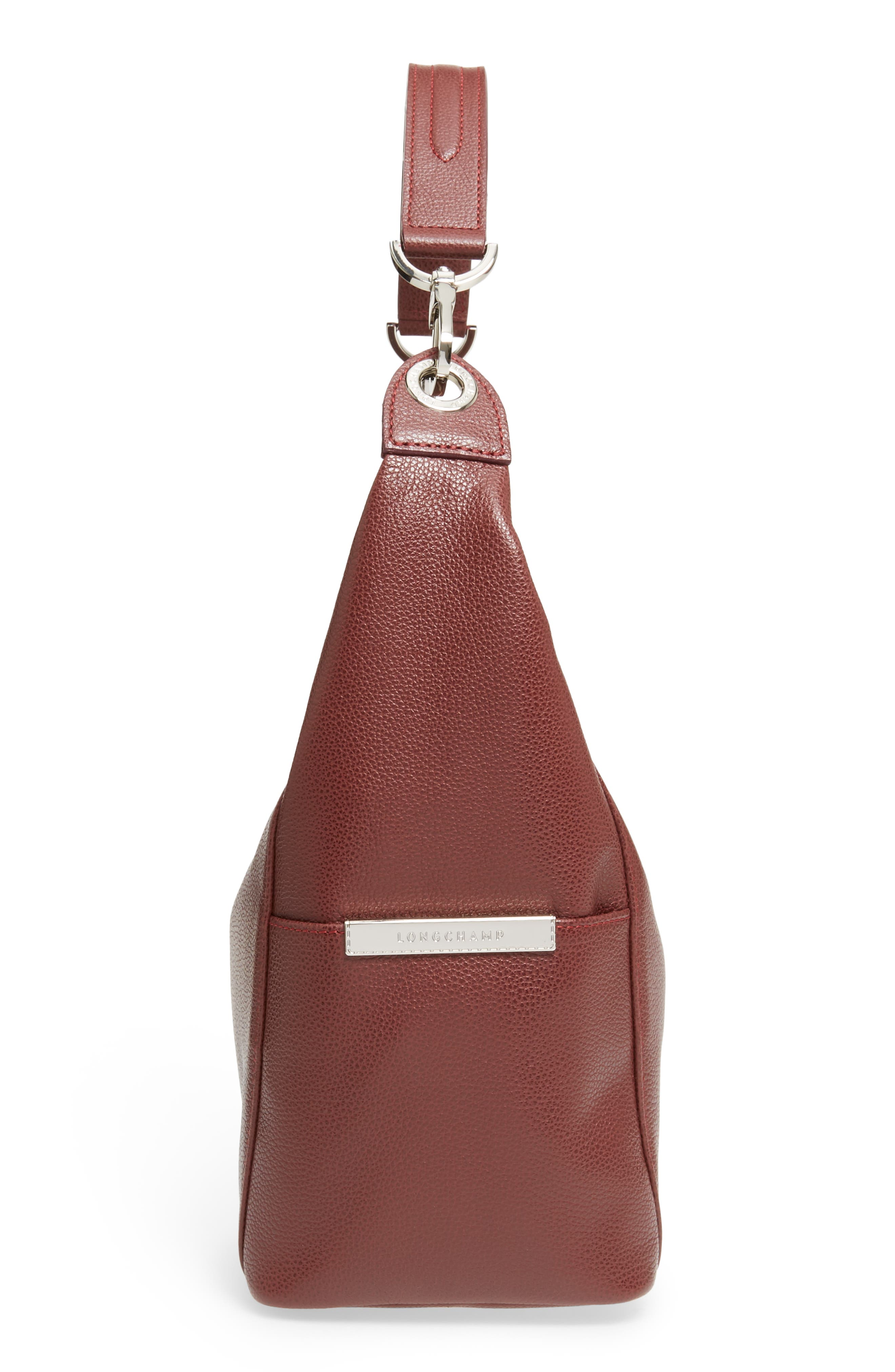 'Le Foulonne' Leather Hobo Bag,                             Alternate thumbnail 5, color,                             618