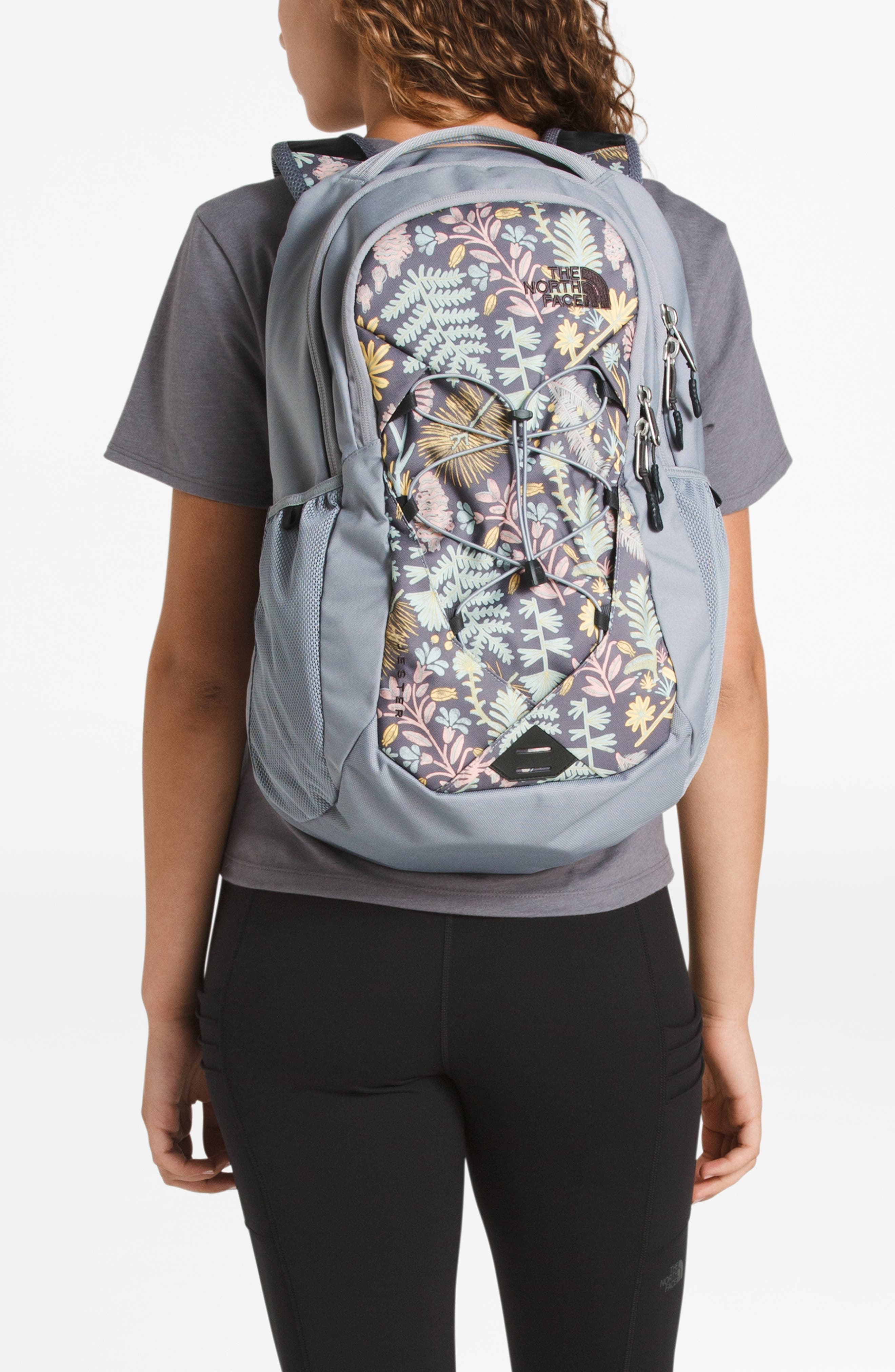 'Jester' Backpack,                             Alternate thumbnail 2, color,                             GREY FLORAL PRINT/ MID GREY