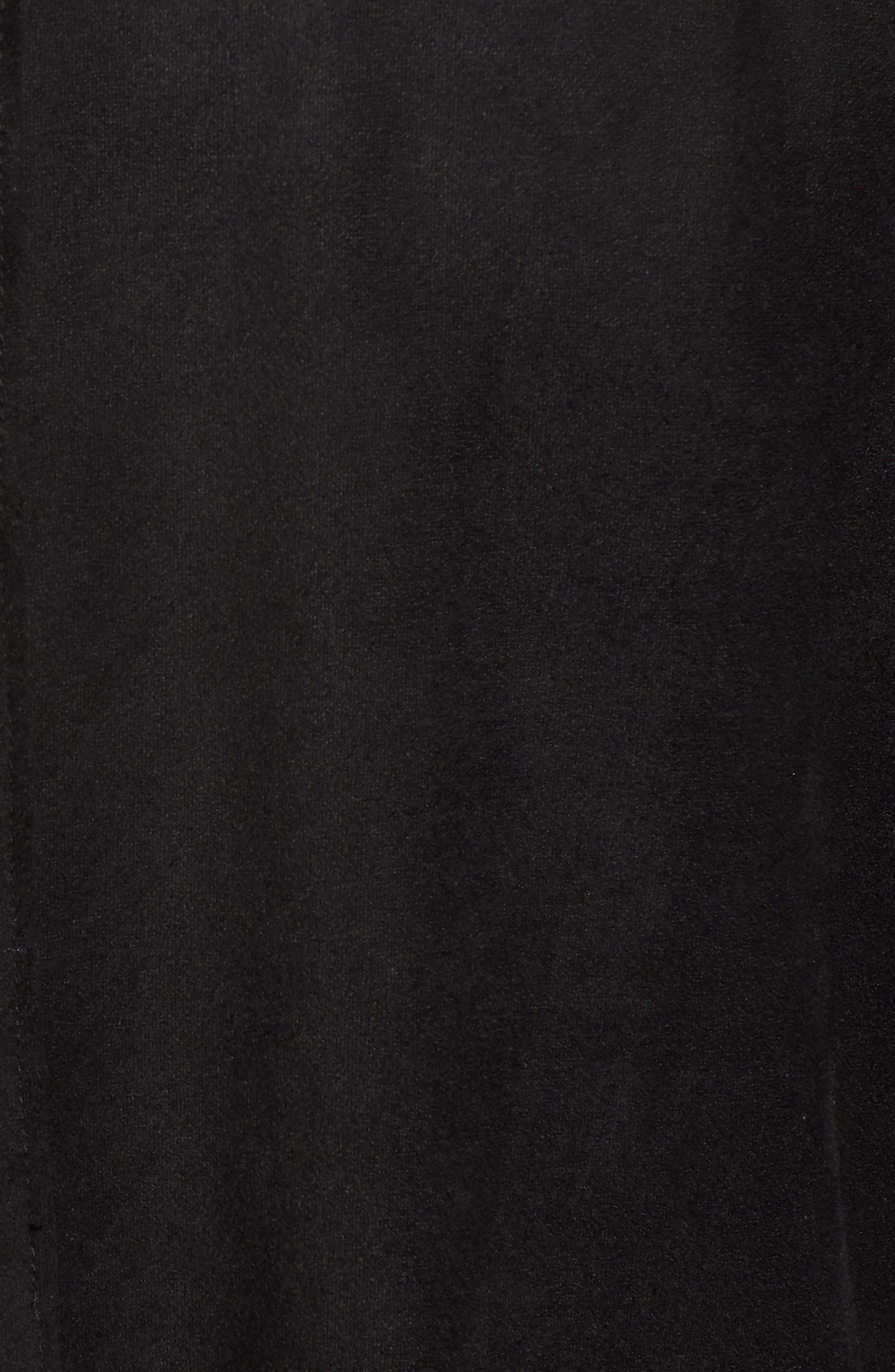 BLANKNYC,                             Drape Front Jacket,                             Alternate thumbnail 7, color,                             INK