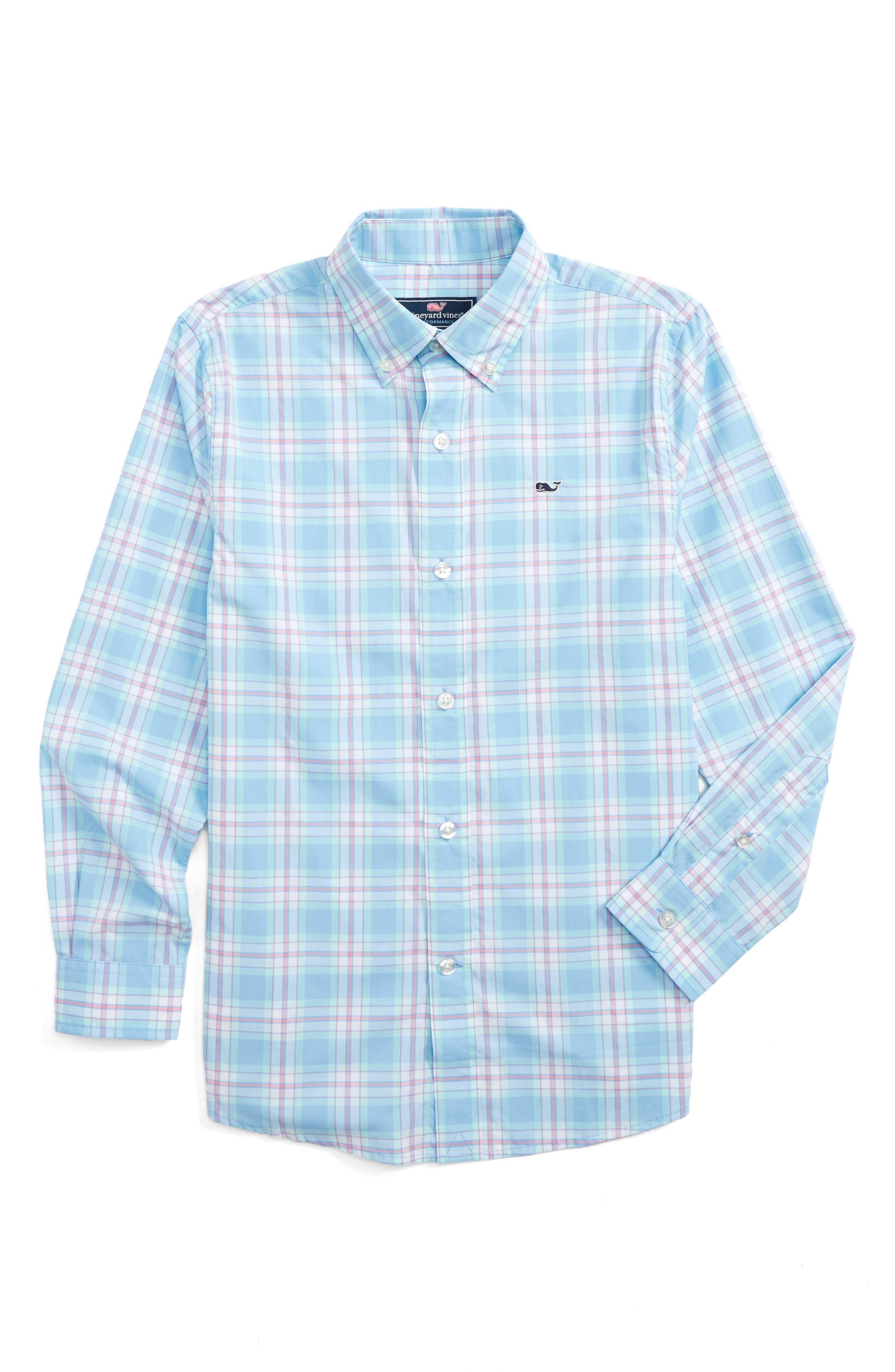 Montauk Point Performance Whale Shirt,                         Main,                         color,