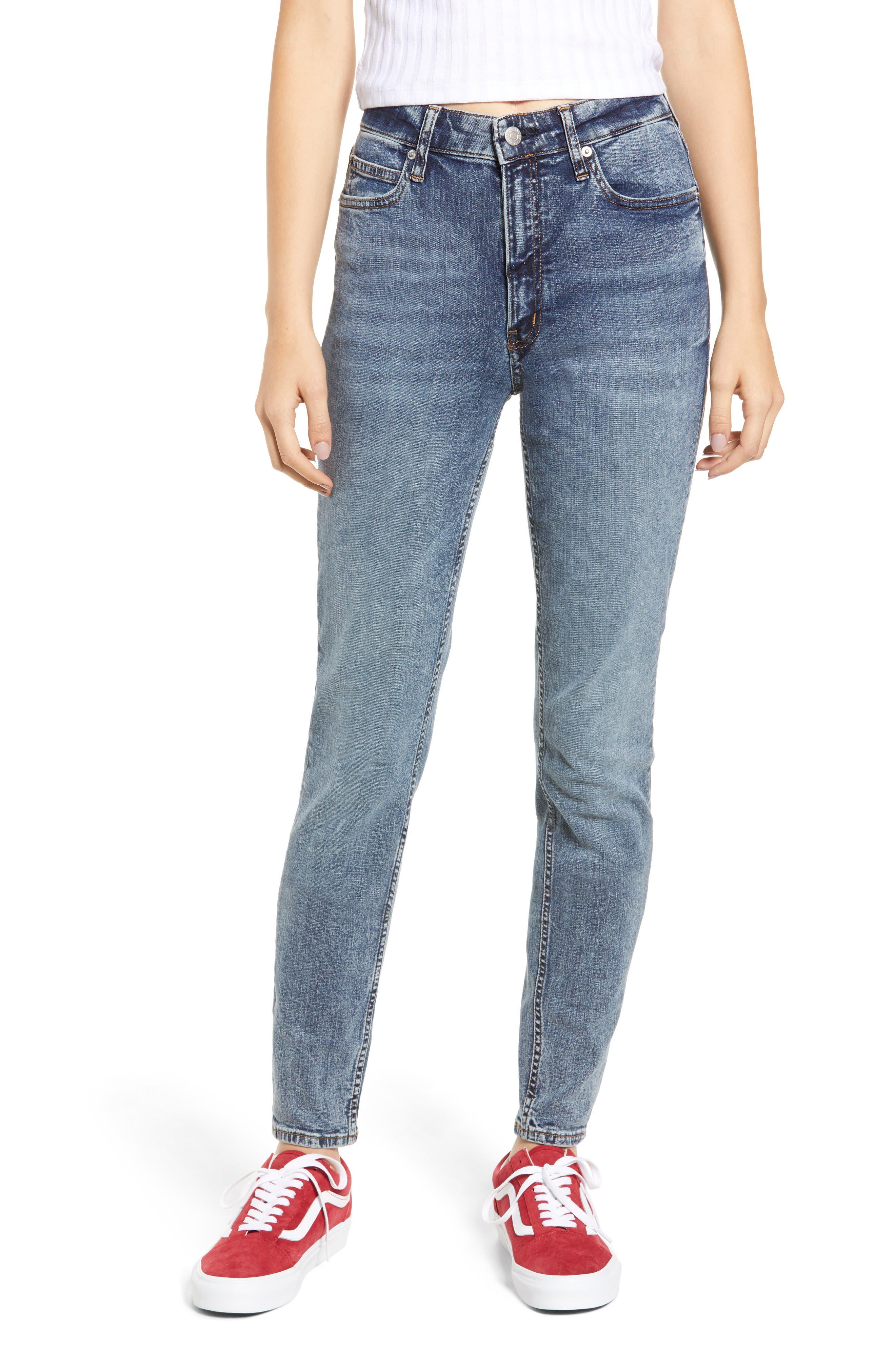 High Waist Skinny Jeans,                         Main,                         color, 400
