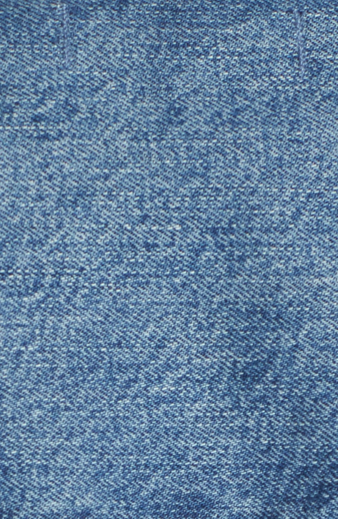 Denim Duster,                             Alternate thumbnail 7, color,                             ALVARADO WASH